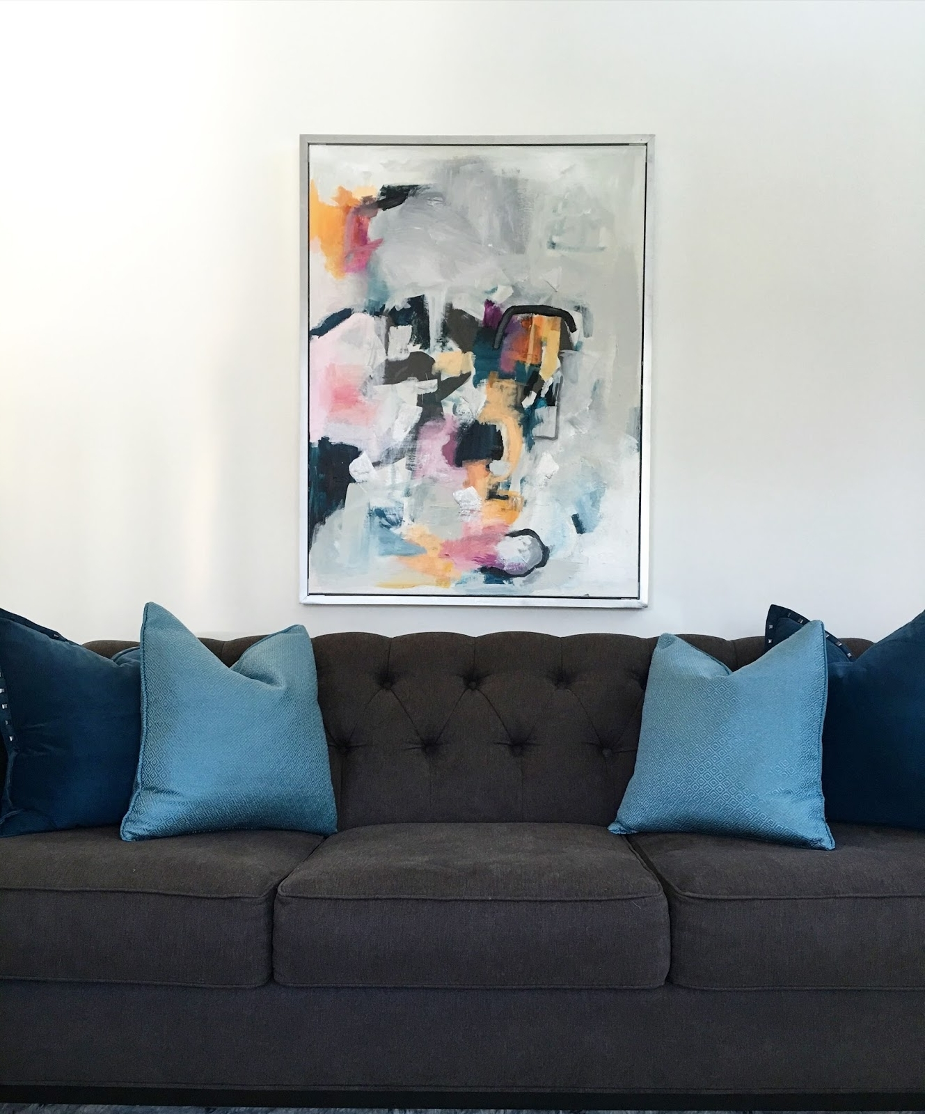 Livelovediy: Diy Abstract Wall Art With Regard To Favorite Diy Abstract Wall Art (Gallery 5 of 15)