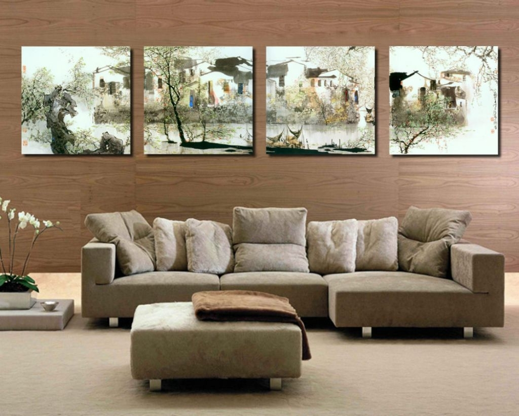 Living Room : Attractive Decoration Wall Art For Living Room With With Trendy Wall Art Sets For Living Room (View 9 of 15)