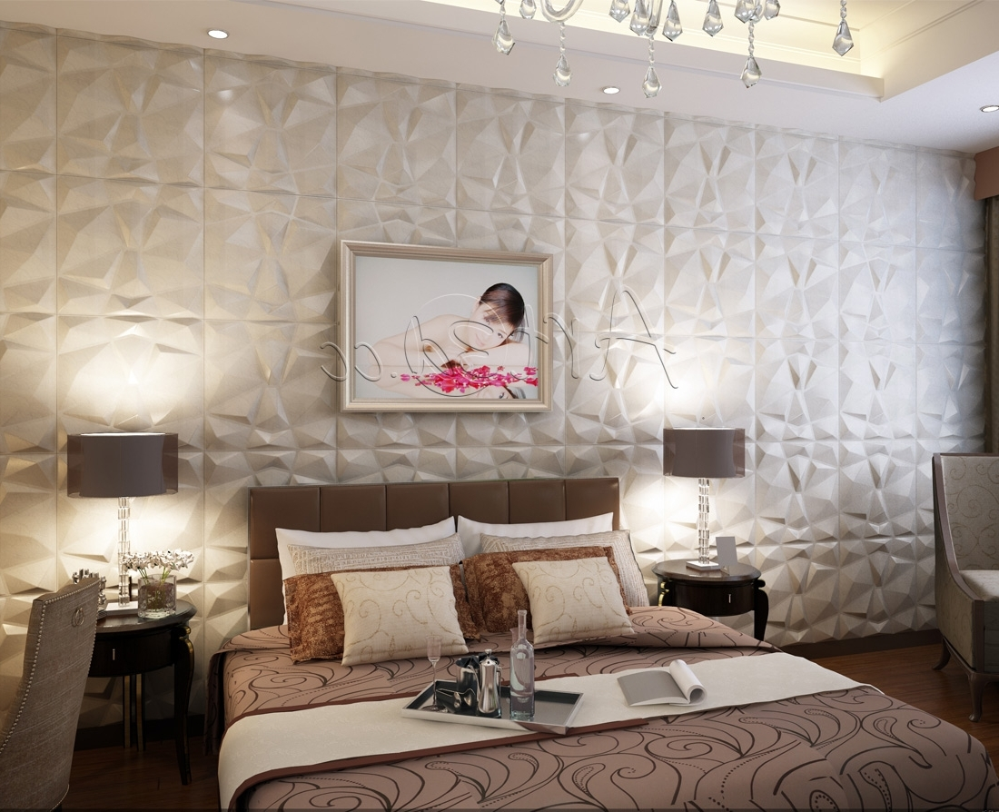 Living Room Wall Panels In Widely Used 3D Plastic Wall Panels (View 10 of 15)