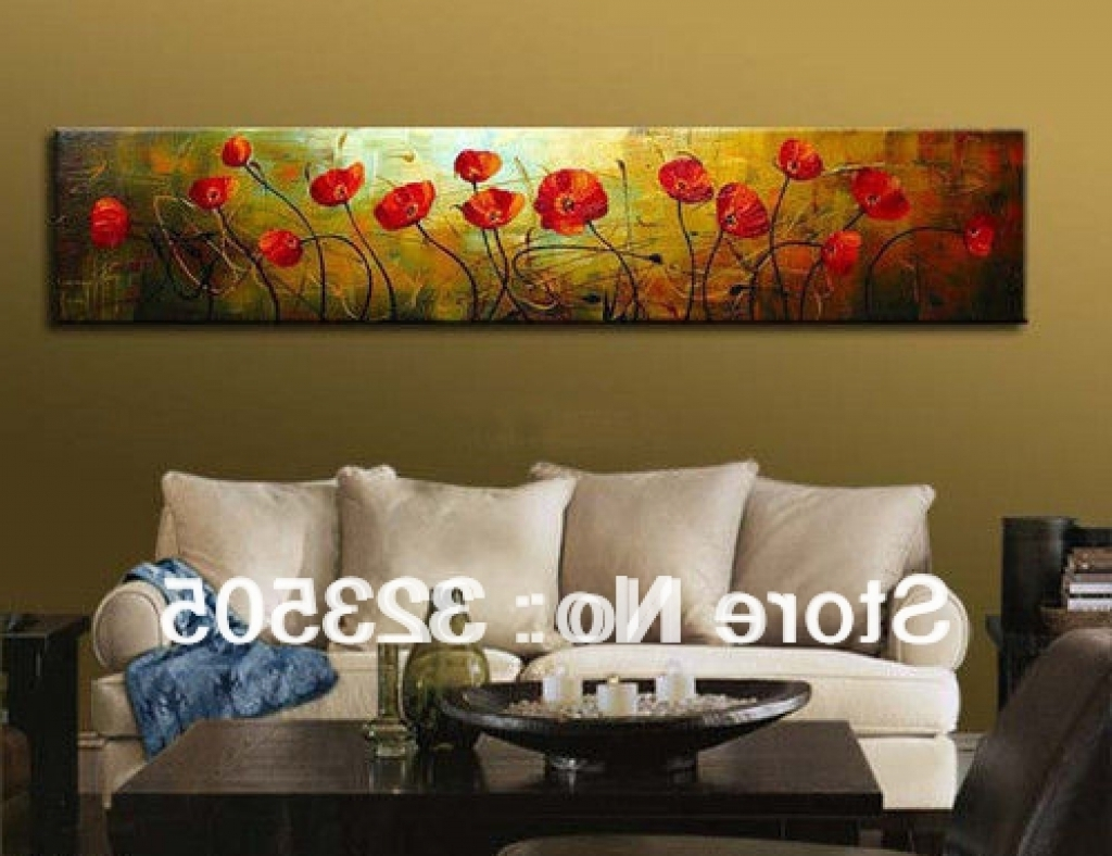 Long Abstract Wall Art Intended For Most Popular Uncategorized : Abstract Canvas Wall Art Excellent With Imposing (Gallery 6 of 15)