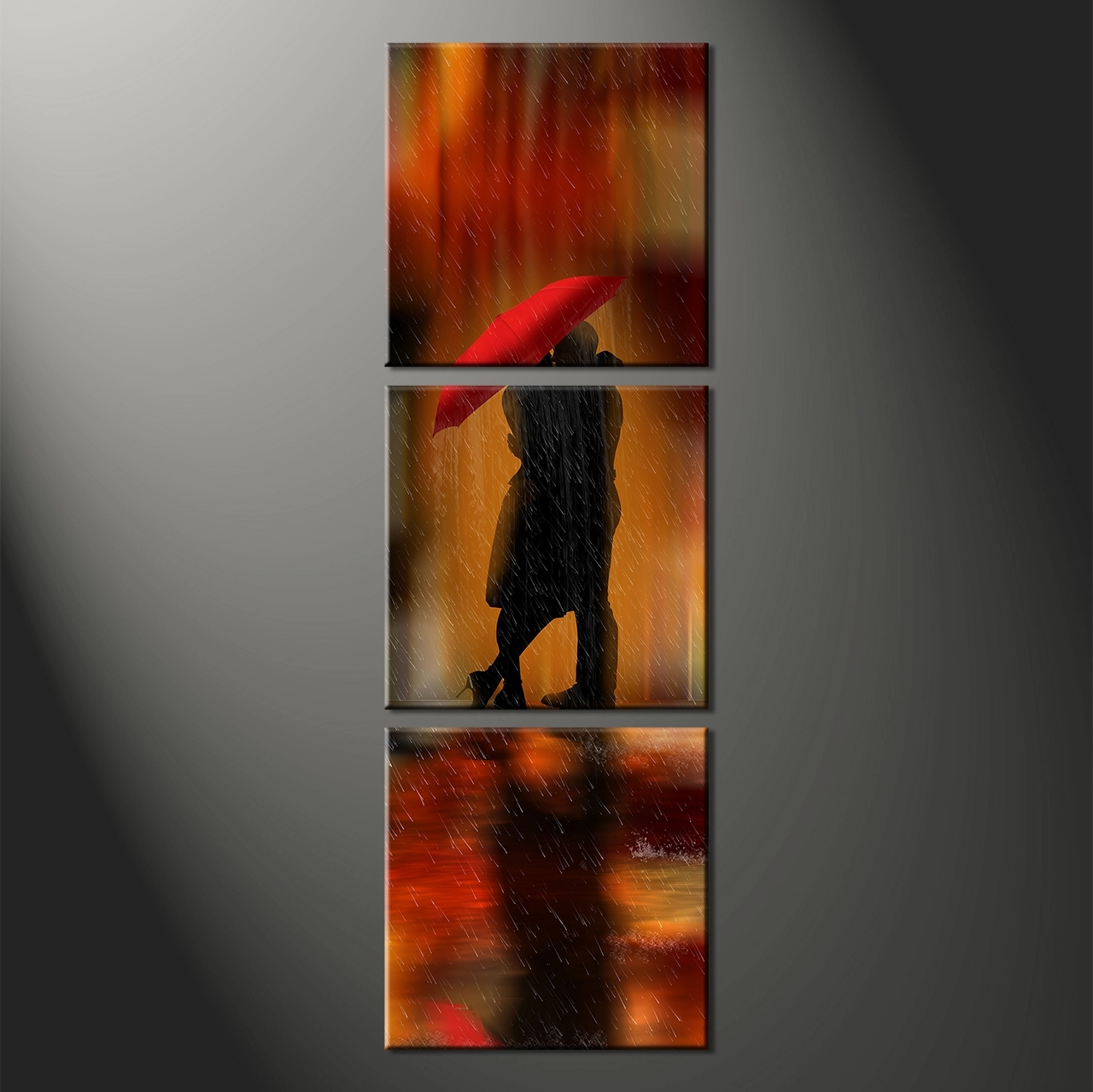 Long Vertical Wall Art In Fashionable Wall Art Designs: Vertical Wall Art Home Wall Decor 3 Piece Canvas (View 3 of 15)