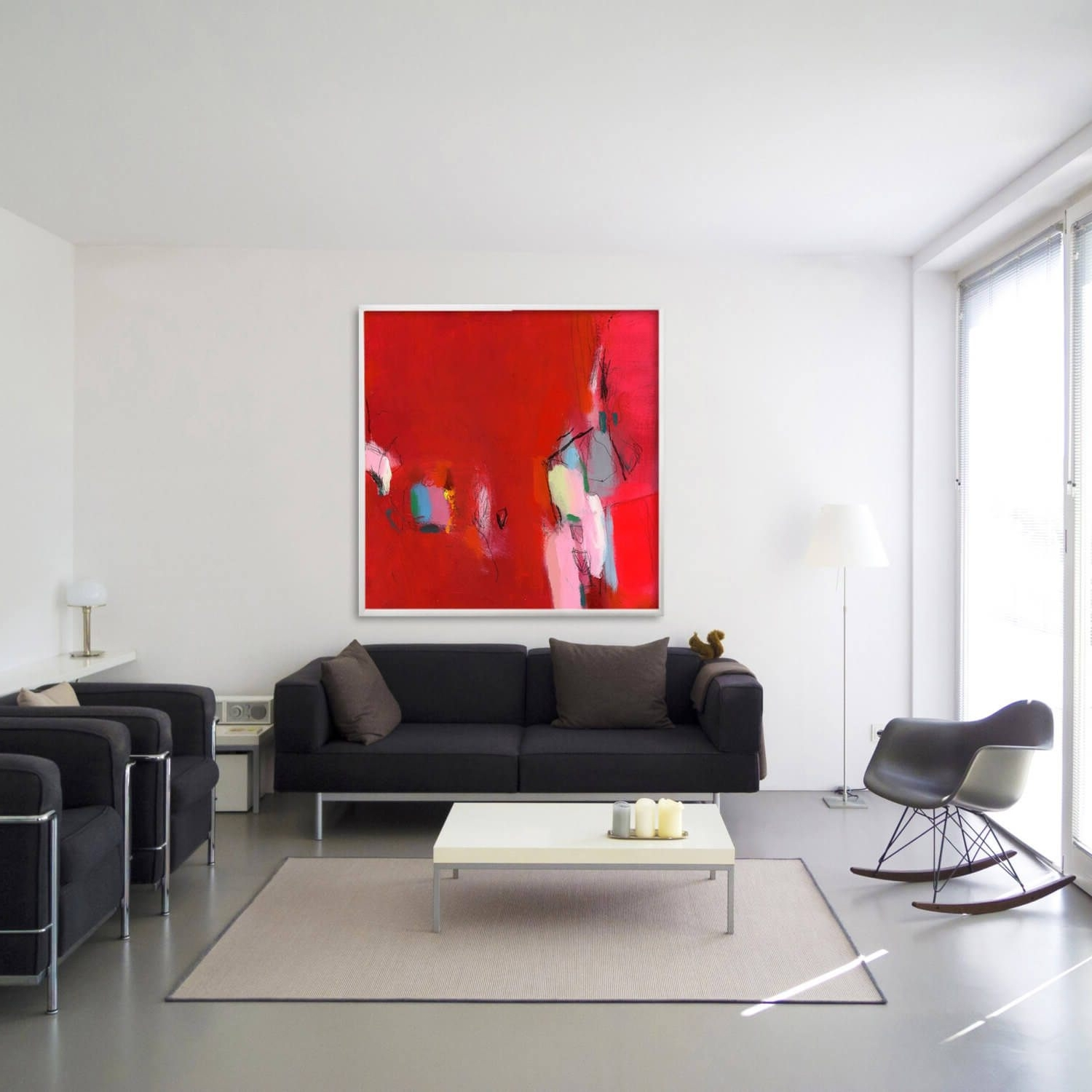 Lonngrenwidell With Most Up To Date Abstract Wall Art Living Room (Gallery 13 of 15)