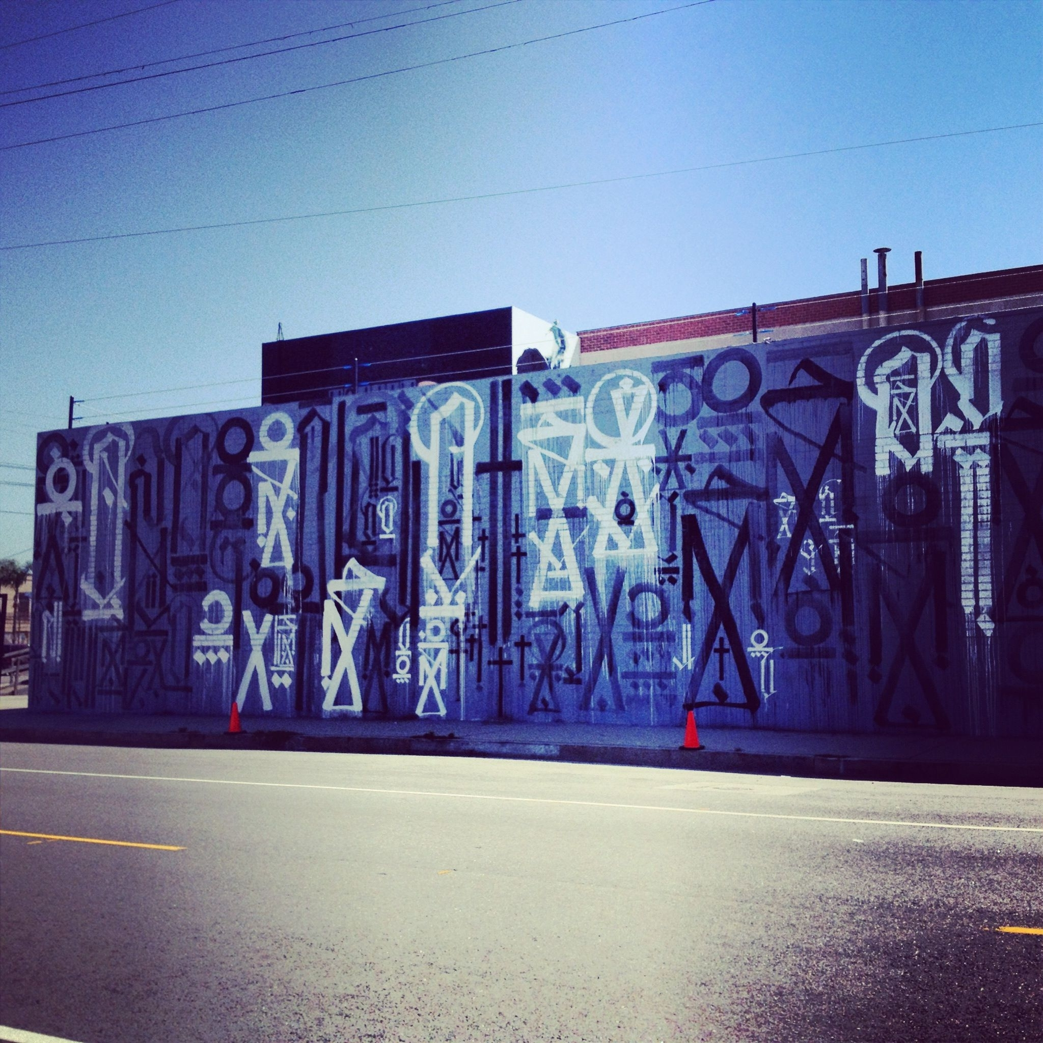 Los Angeles Wall Art For Fashionable Big Wallsretna – Los Angeles (ca) – Street Art And Graffiti (View 14 of 15)