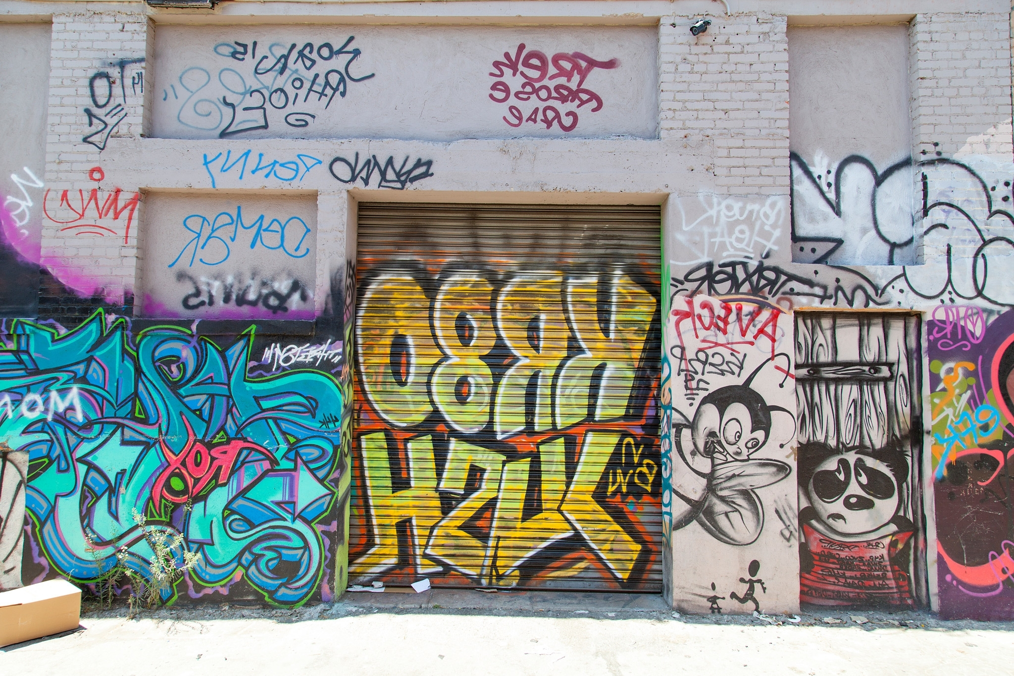 Los Angeles Wall Art Pertaining To Most Recently Released Best Graffiti And Street Art That We've Seen In Los Angeles (View 8 of 15)