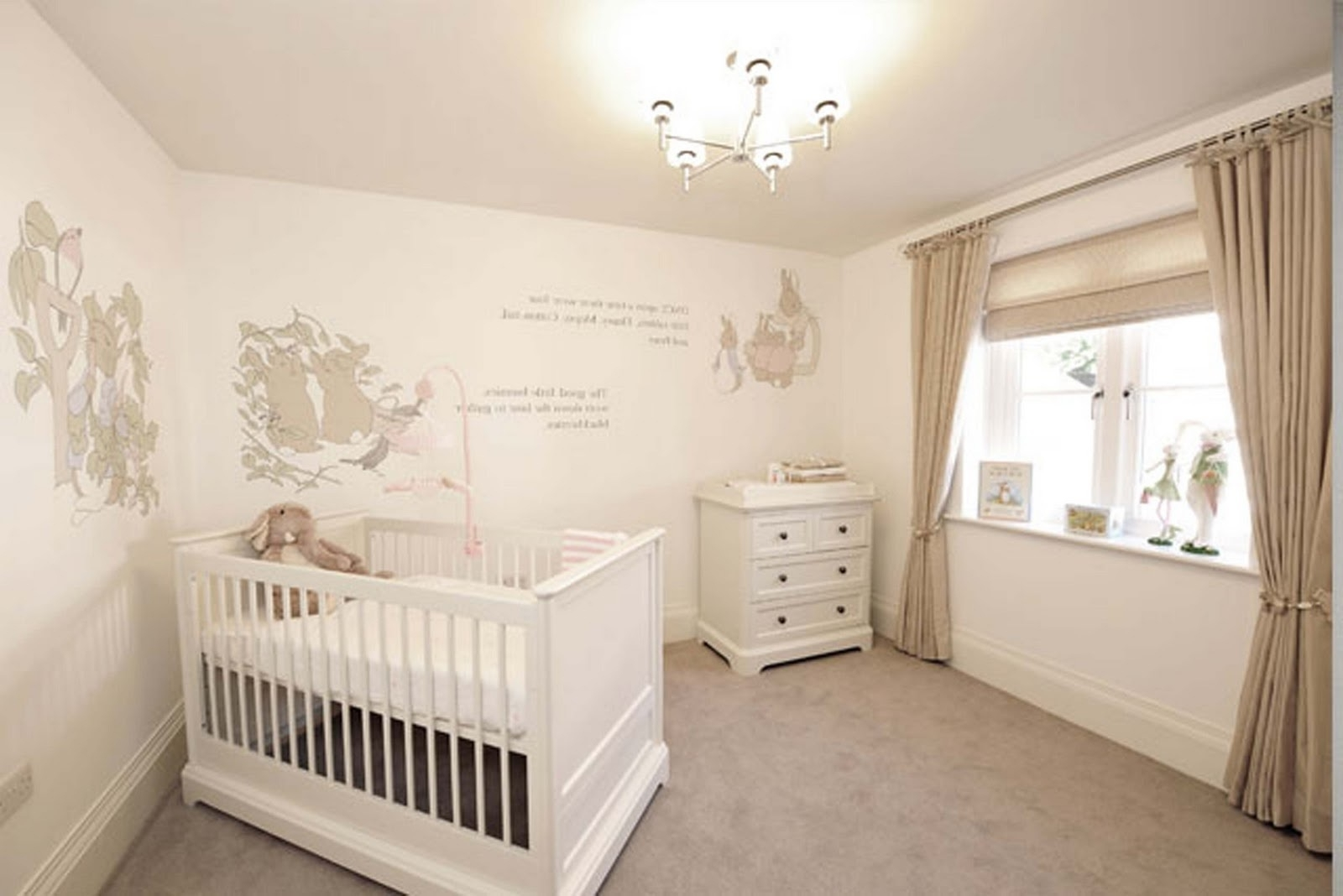 Love These Beatrix Potter, Peter Rabbit Wall Stencils (View 6 of 15)