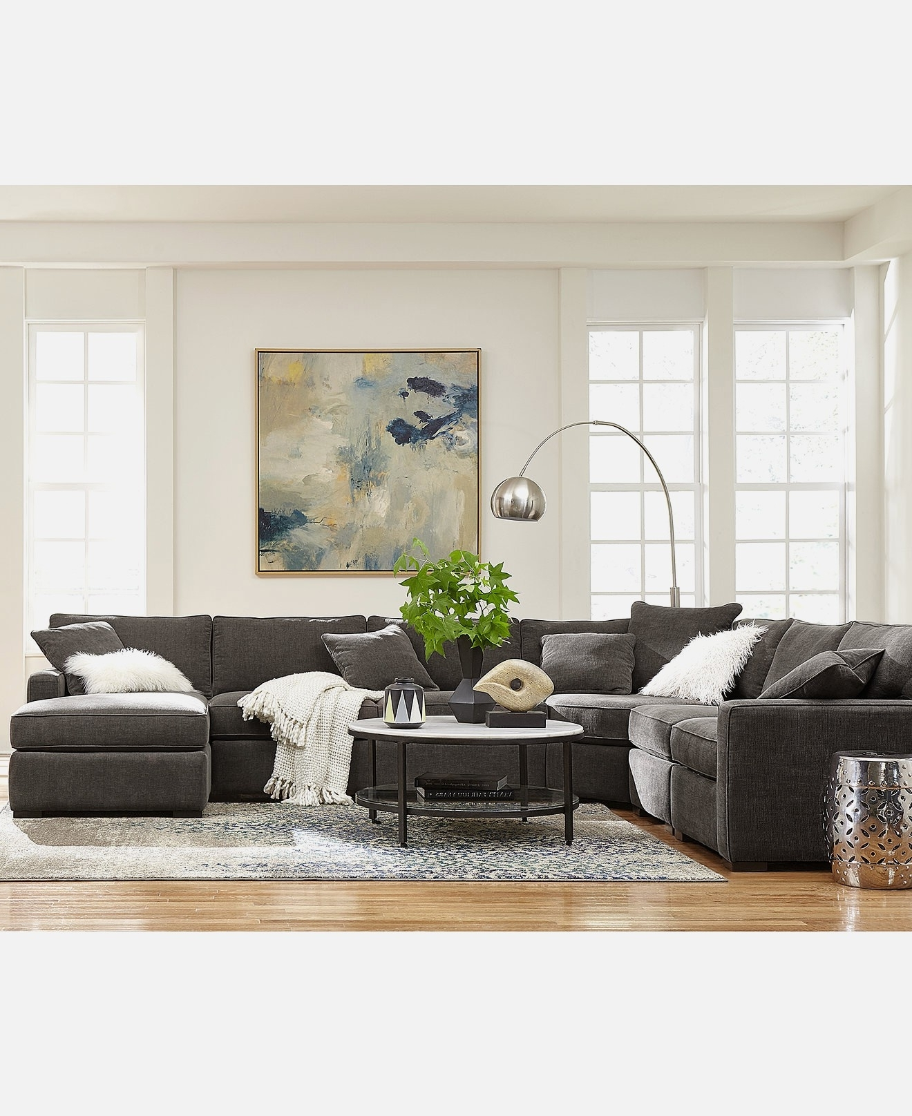 Macys Wall Art Within Recent Sofas: Mesmerizing Macys Sectional Sofa For Best Living Room Decor (View 9 of 15)