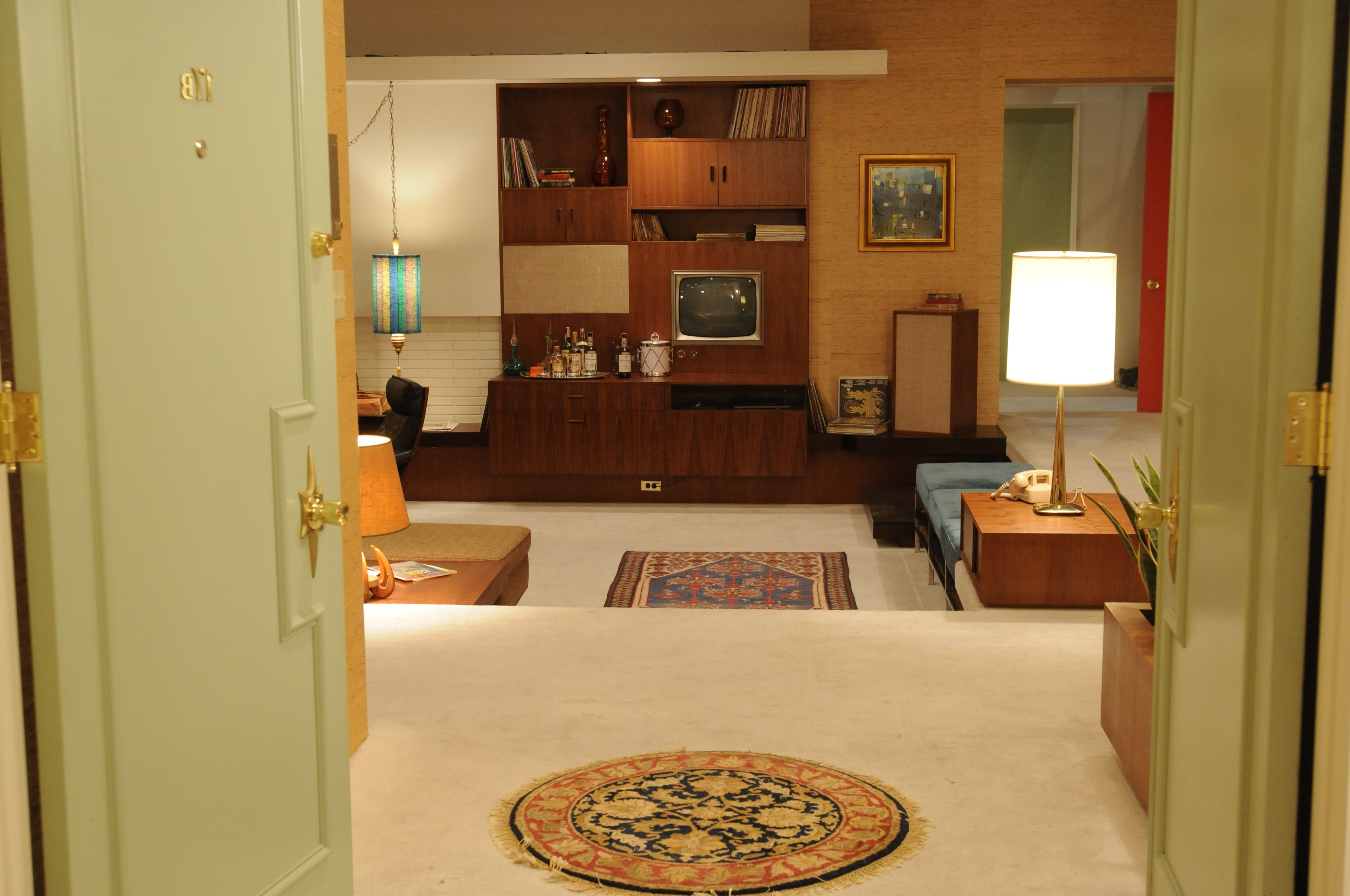 Mad Men Wall Art Throughout Well Liked Don Draper's Apartment Set From Season 5 – From The La Times (View 7 of 15)