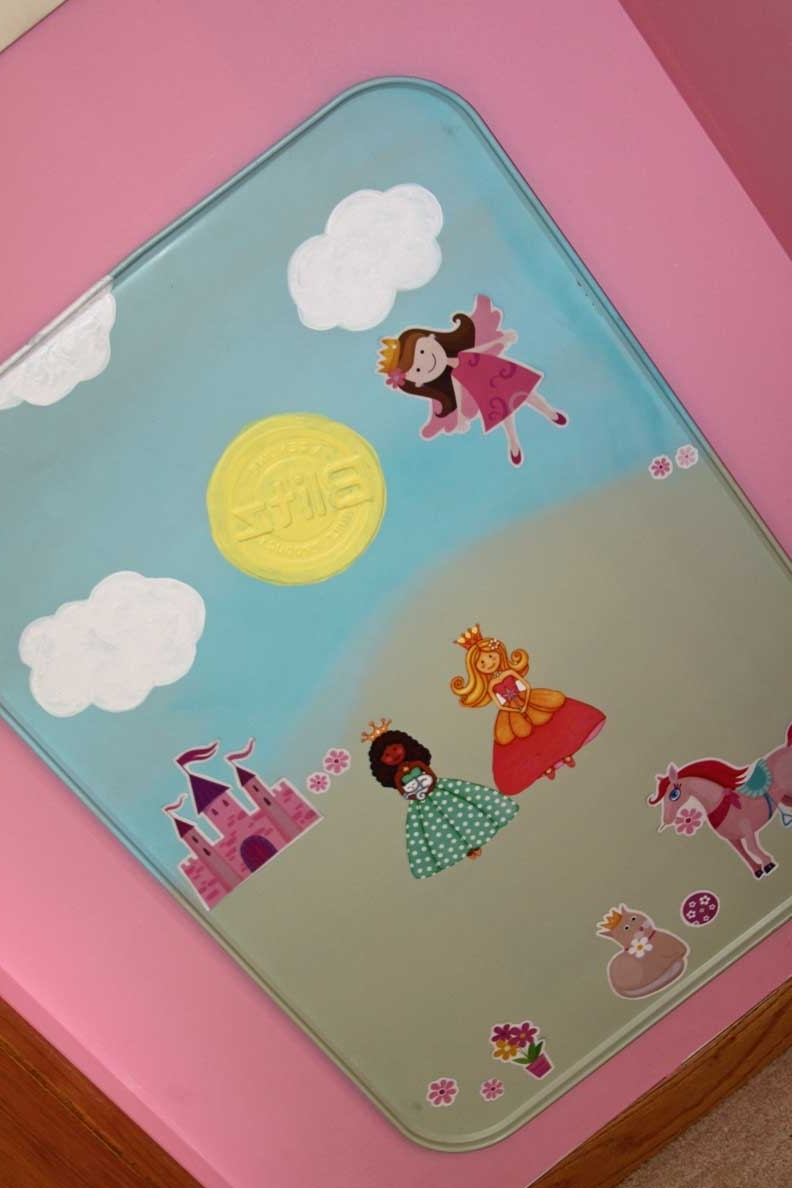Magnetic Wall Art And Interactive Princess Toy (View 13 of 15)