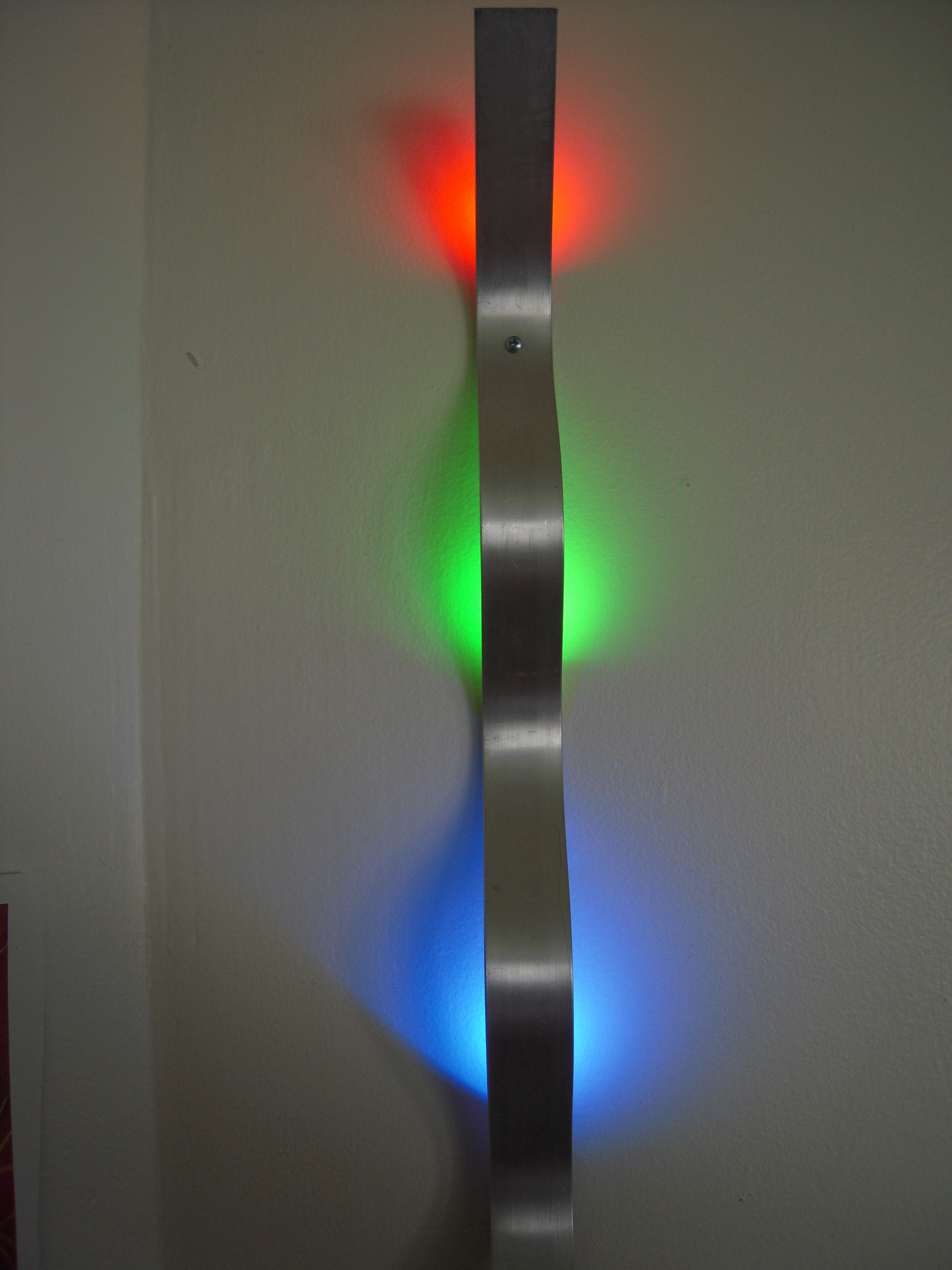 Make Colorful Light Art With Led Lighting And Your Existing Wall In Well Known Wall Light Box Art (View 6 of 15)