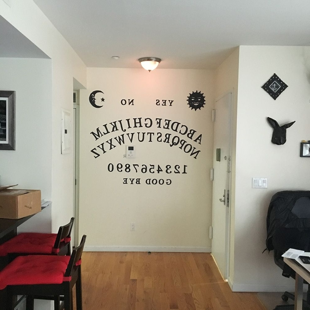 Manning Makes Stuff Pertaining To Ouija Board Wall Art (View 3 of 15)