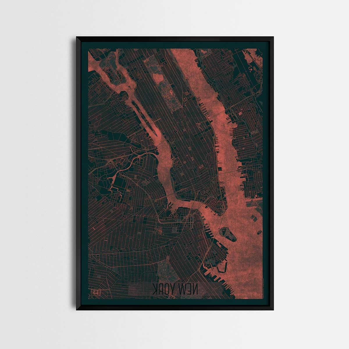 Map Posters And Art Prints – Gifts For City (View 8 of 15)