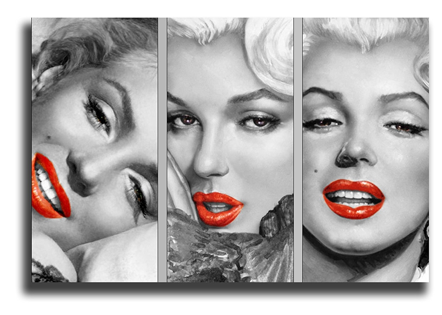 "Marilyn Monroe Pop Art Style Canvas Art Print Picture 20""x30 In 2018 Marilyn Monroe Black And White Wall Art (View 12 of 15)"