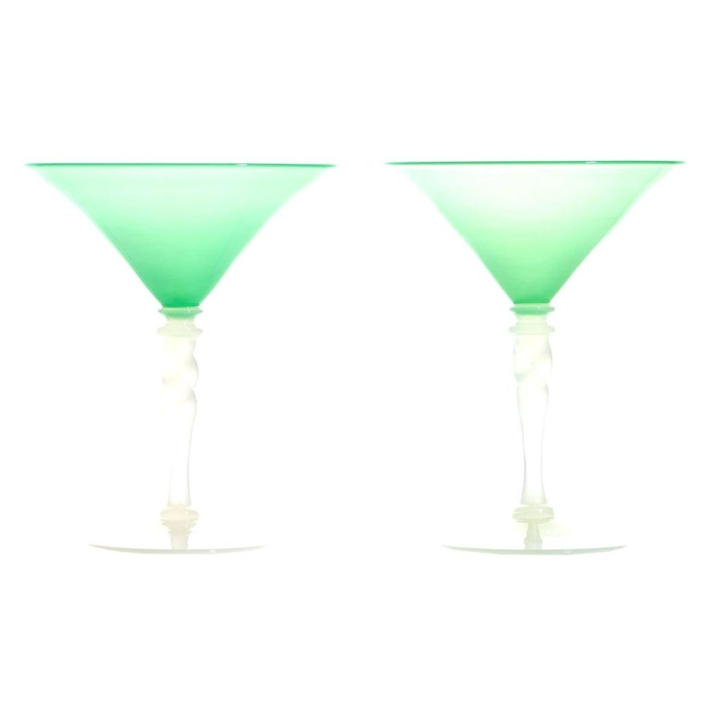 Martini Glass Wall Art With Widely Used Wall Arts ~ Martini Glass Wall Art Steuben Art Deco Jade Green And (View 9 of 15)