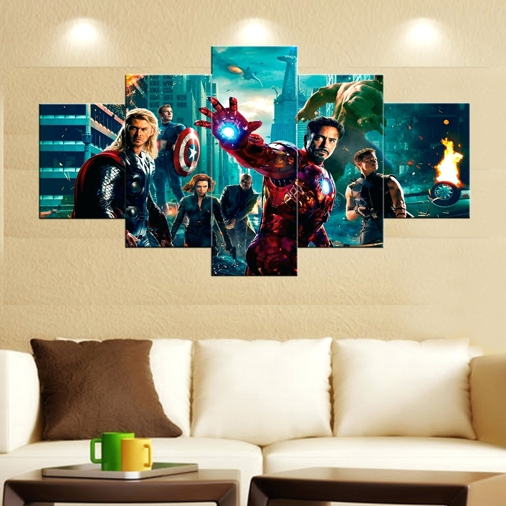 Famous Avengers 3d Wall Art Festooning - Wall Art Collections ...