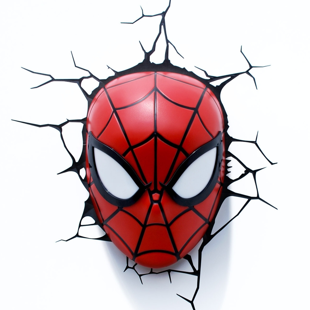 Marvel 3D Wall Art Throughout 2018 Spiderman #mask #clip #art (View 8 of 15)