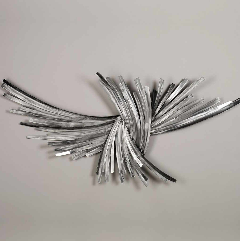 Metal Abstract Wall Art With Favorite Wall Art Designs: Silver Metal Wall Art Abstract Pattern Silver (View 8 of 15)