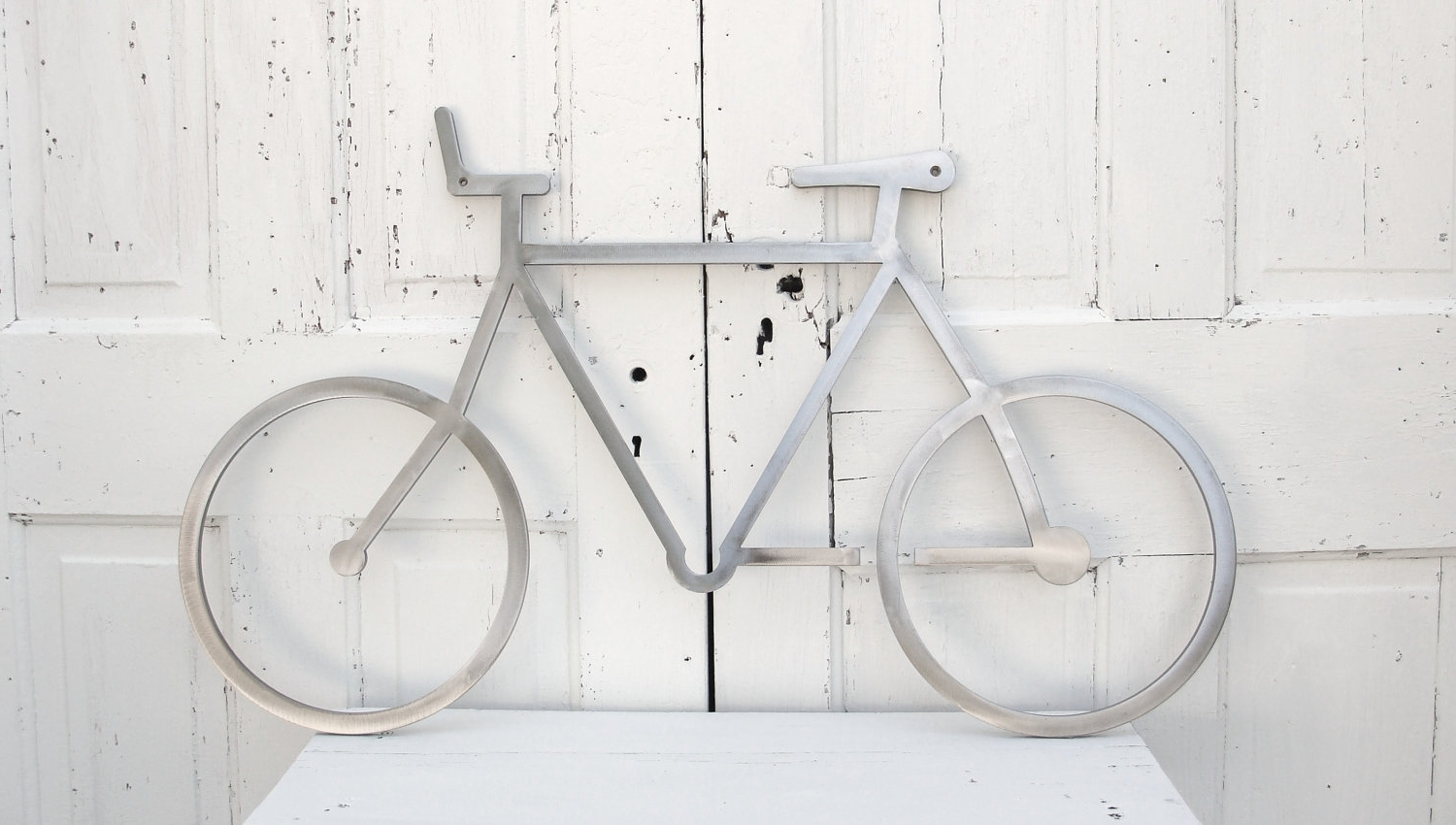 Metal Bicycle Wall Art With Most Recent Wall Art Decor Ideas: Stainless Steel Metal Bicycle Wall Art (View 6 of 15)