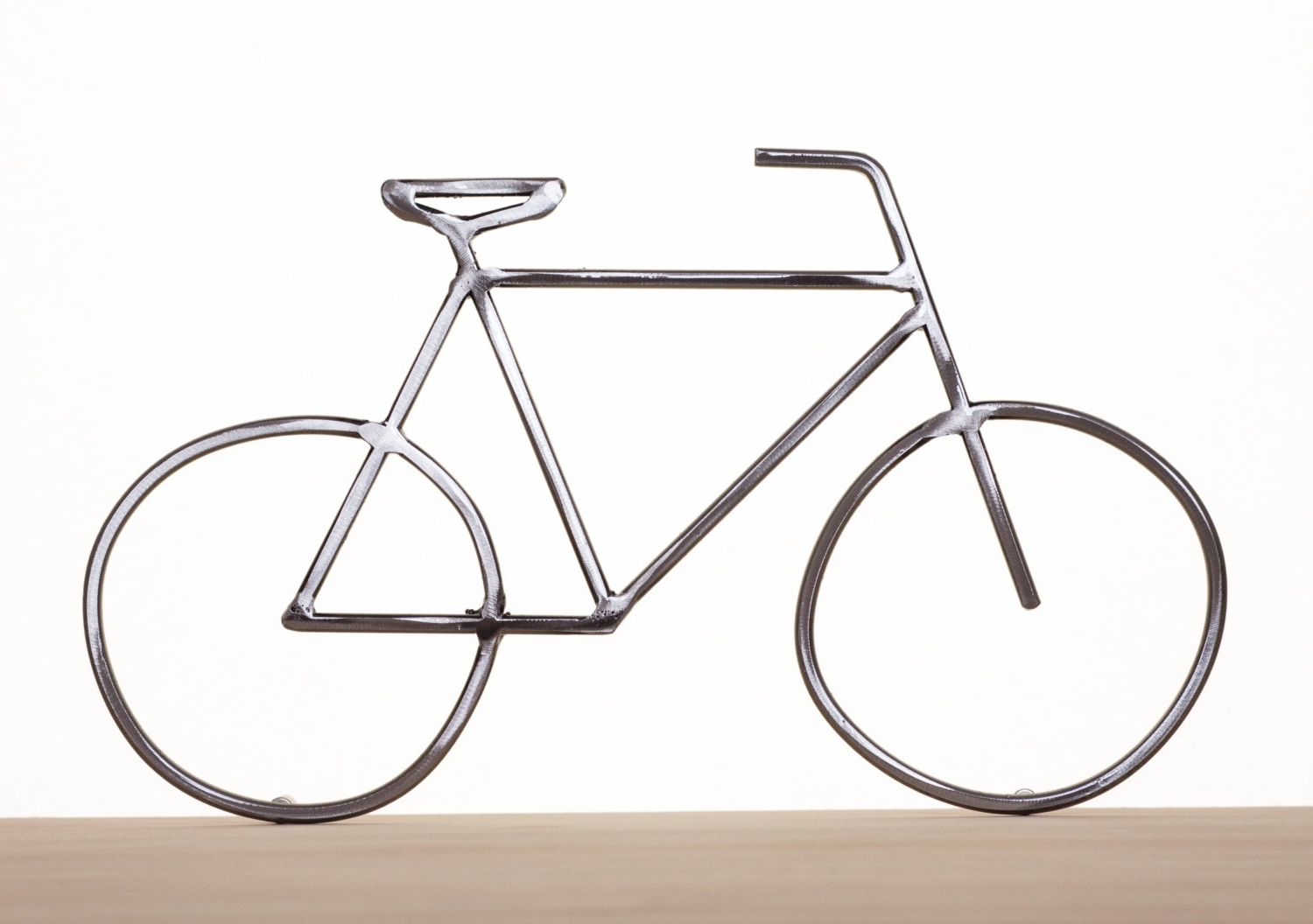 Metal Bike Art Bike Sculpture Metal Bicycle Metal Wall Art For Most Up To Date Bicycle Wall Art Decor (View 11 of 15)