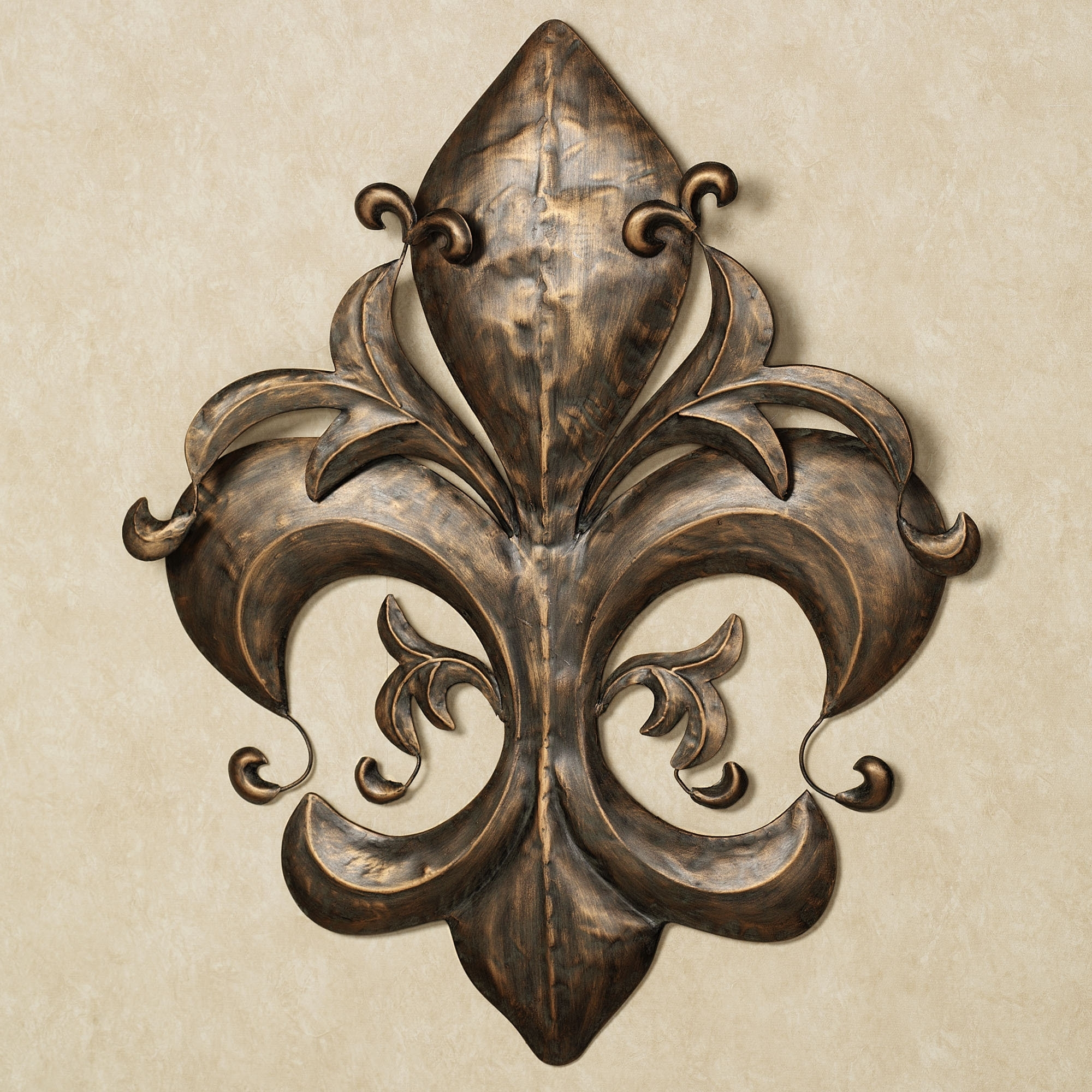 Metal Fleur De Lis Wall Art In Widely Used Projects Ideas Metal Fleur De Lis Wall Decor Design And – Wall (View 6 of 15)