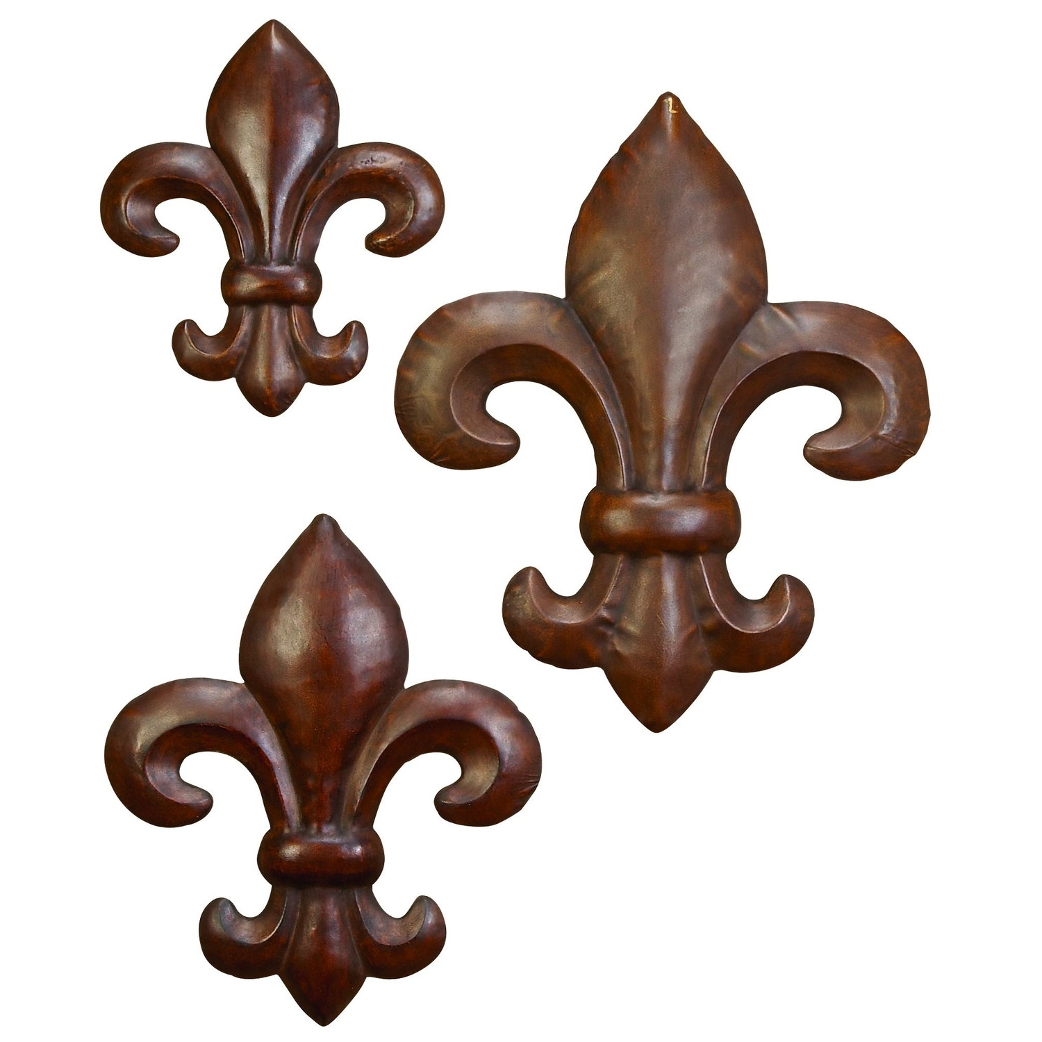Metal Fleur De Lis Wall Art With Regard To Fashionable Absolutely Smart Fleur De Lis Metal Wall Decor Also How To (View 9 of 15)