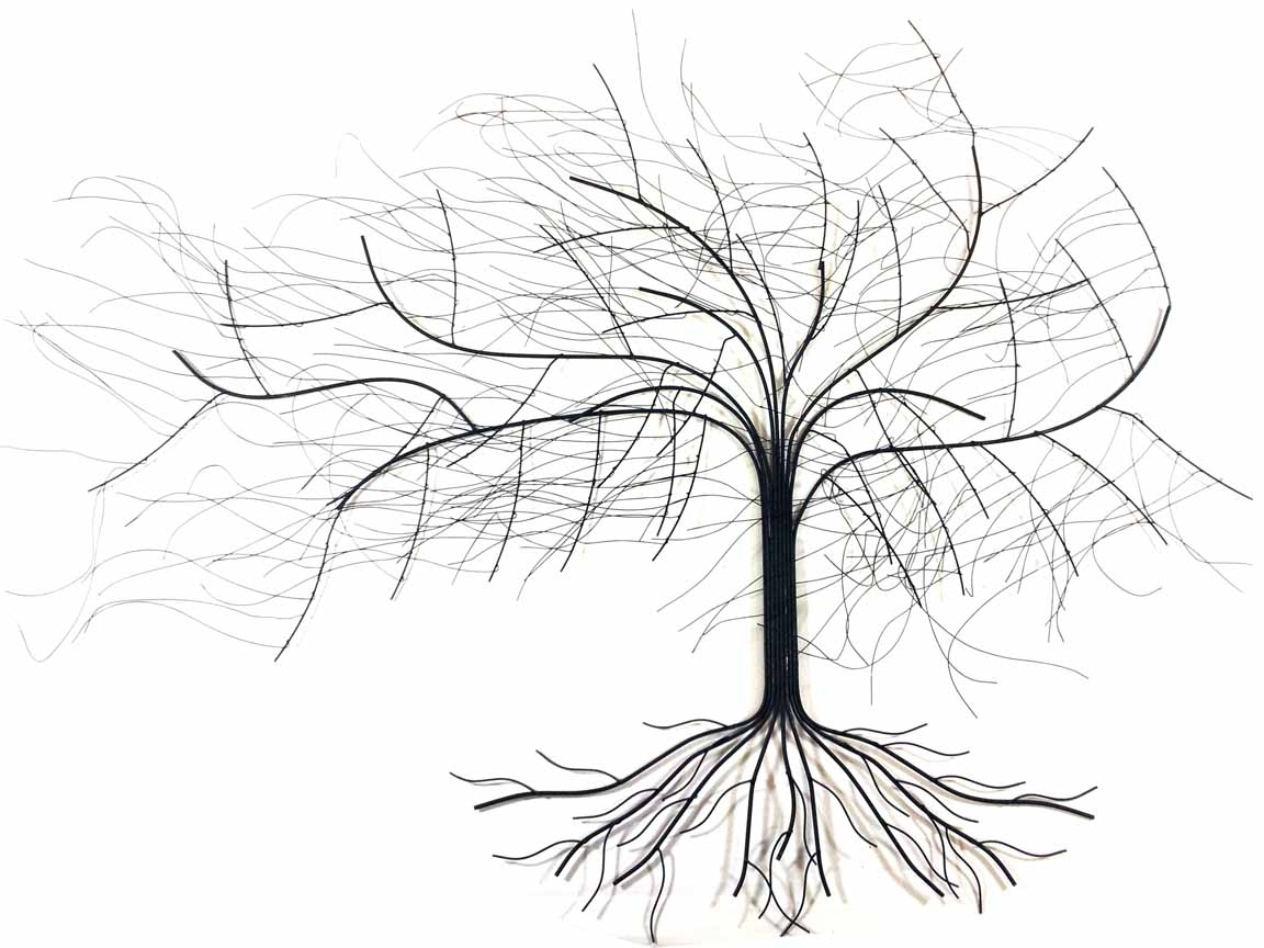 Metal Oak Tree Wall Art Within Most Up To Date Metal Oak Tree Wall Art Uk – Home Design Ideas (Gallery 1 of 15)