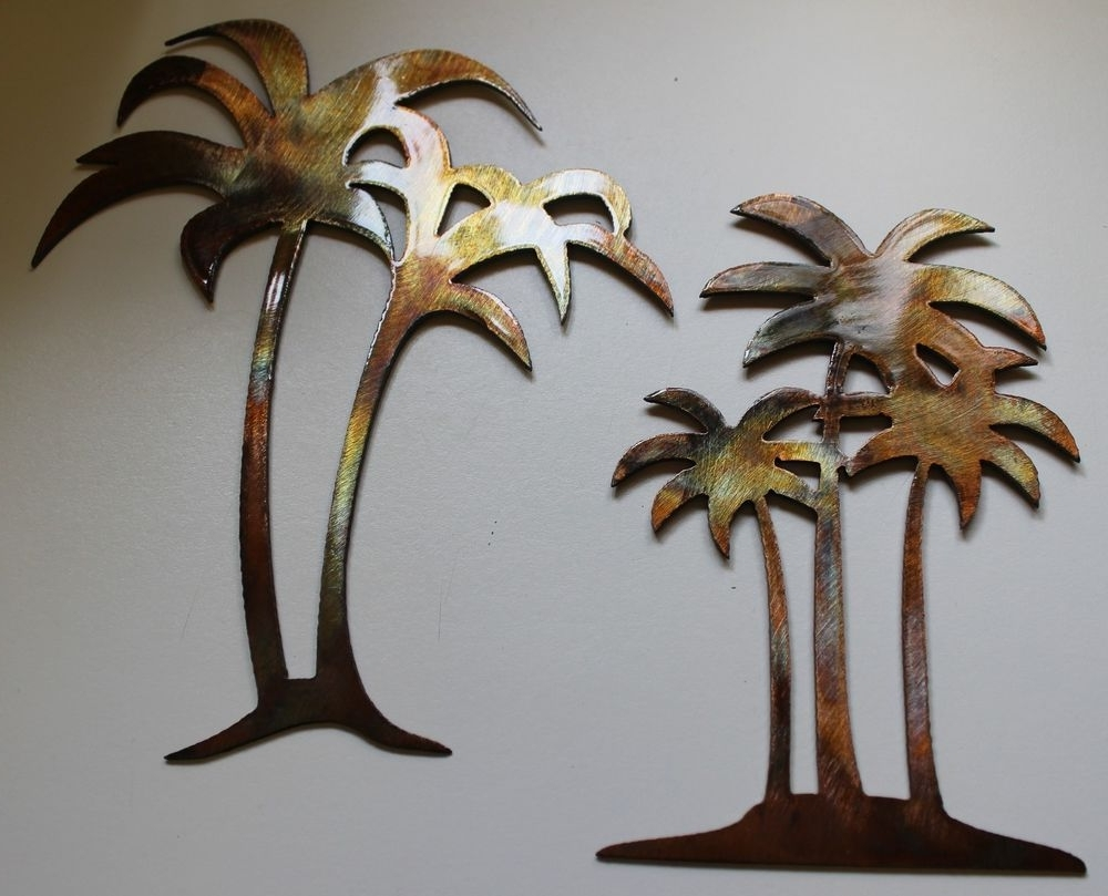 Metal Palm Tree Wall Art (View 3 of 15)