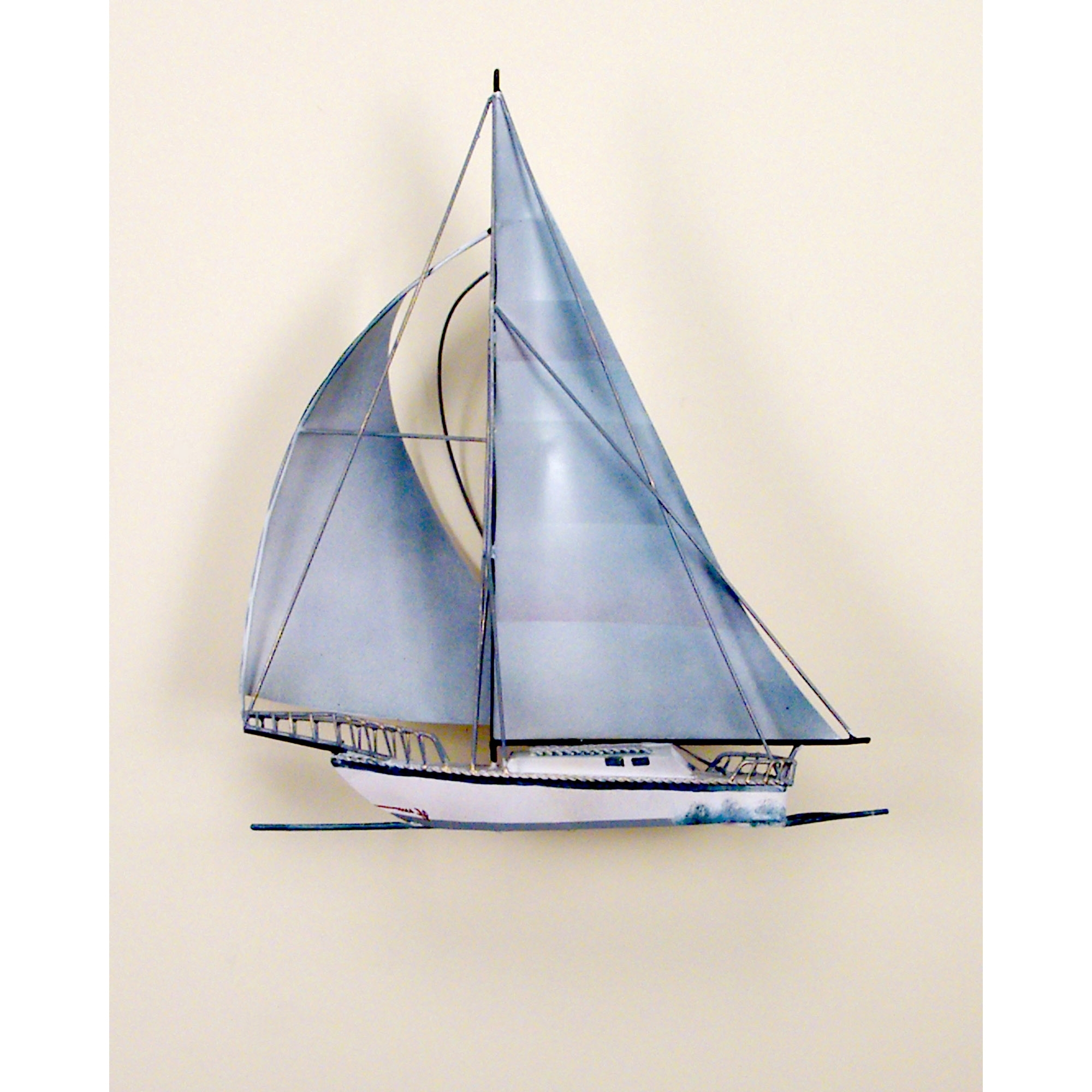 Metal Sailboat Wall Art Intended For Popular Metal Ship Wall Art (View 8 of 15)
