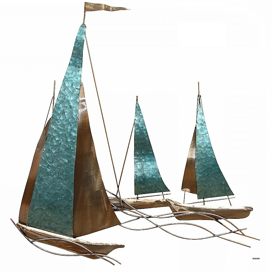 Metal Sailboat Wall Art Pertaining To Most Popular Wall Art Awesome Sailboat Metal Wall Art Hi Res Wallpaper Photos (View 9 of 15)