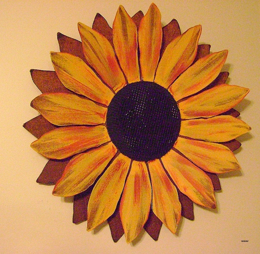 Metal Sunflower Wall Art Within Current Metal Sunflower Wall Art Unique Best Swirl Metal Wall Art 50 In (View 8 of 15)