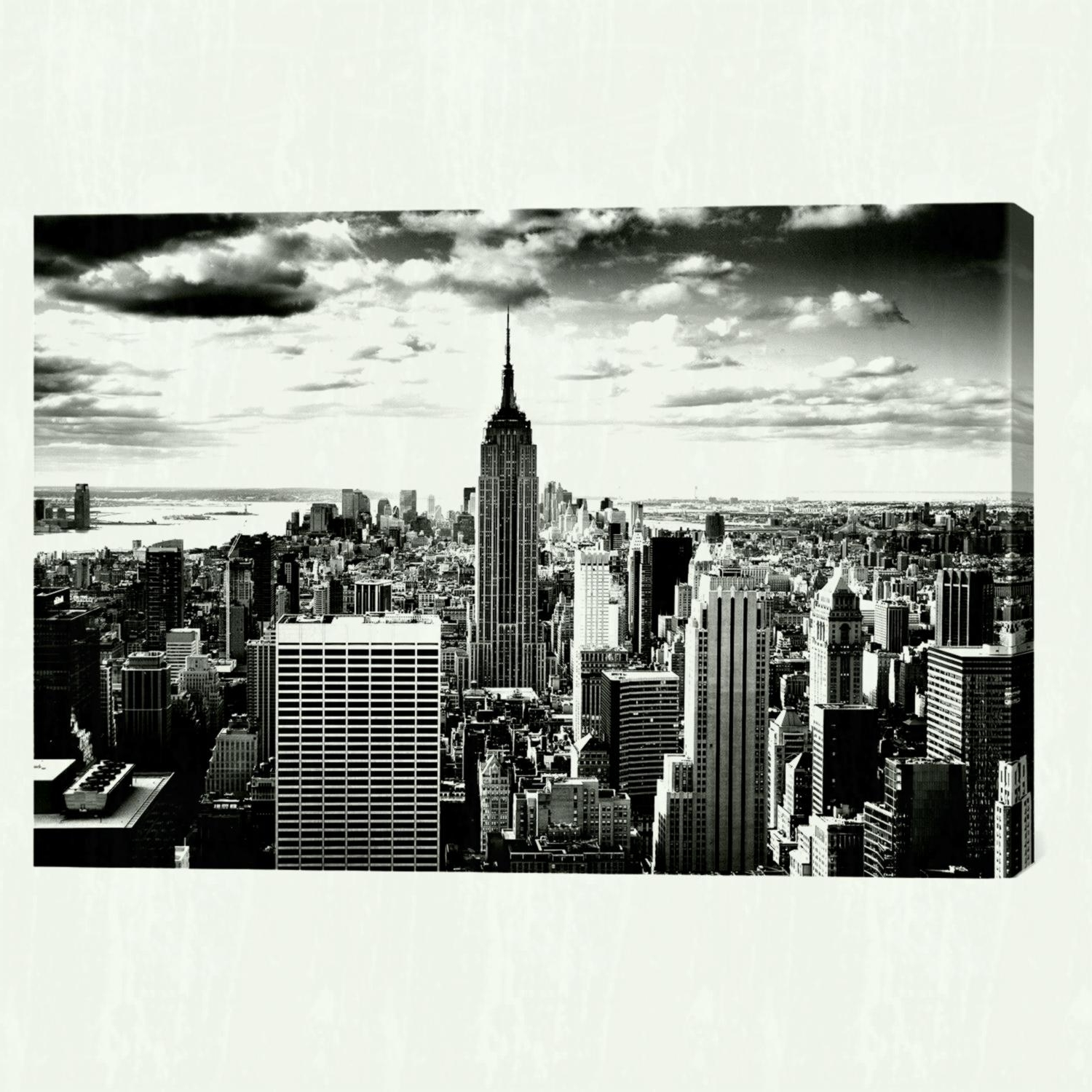 Metal Wall Art New York City Skyline Within Famous Wall Arts Bachelor Pad Art Ideas Eric – Bedroom Ideas (View 10 of 15)