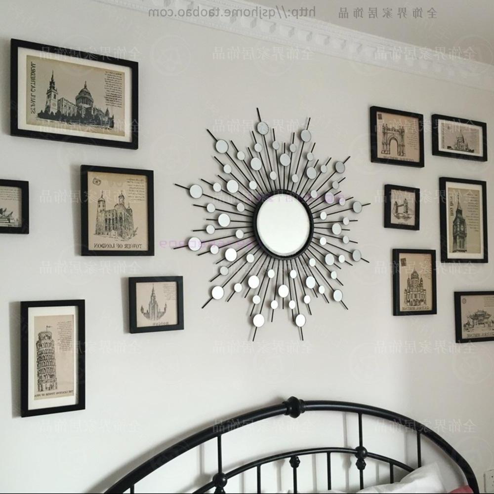 Metal Wall Mirror Decor Modern Mirrored Wall Art Wire Wall Art With Well Known Modern Mirrored Wall Art (View 4 of 15)