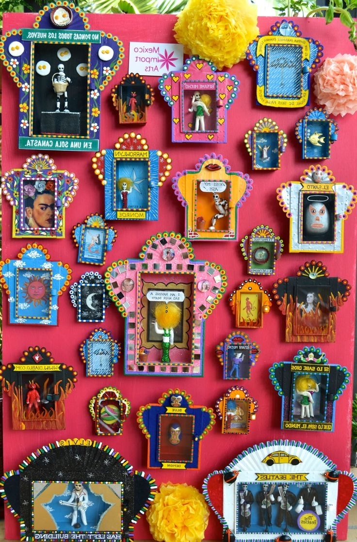 Mexican Ceramic Wall Art Throughout Well Known Wall Art Ideas Design : Rural Vintage Mexico Wall Art Latin (View 5 of 15)
