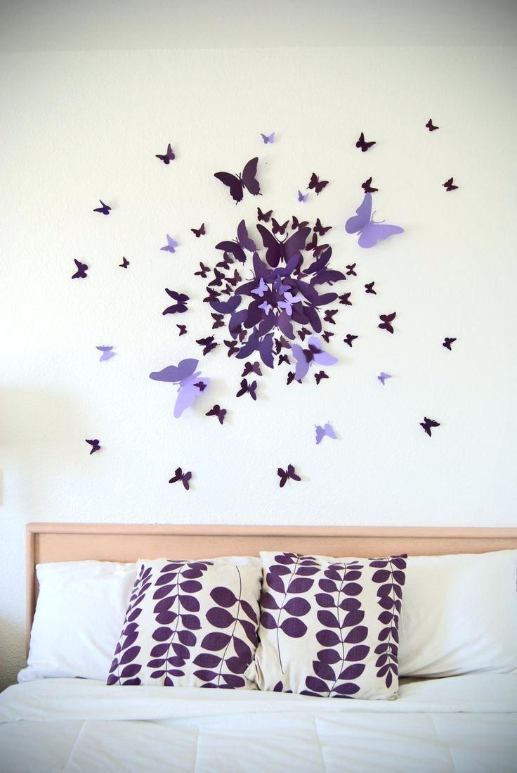 Michaels Wall Art With Most Up To Date Wall Decals At Michaels Best Butterfly Wall Decor Ideas On (View 5 of 15)