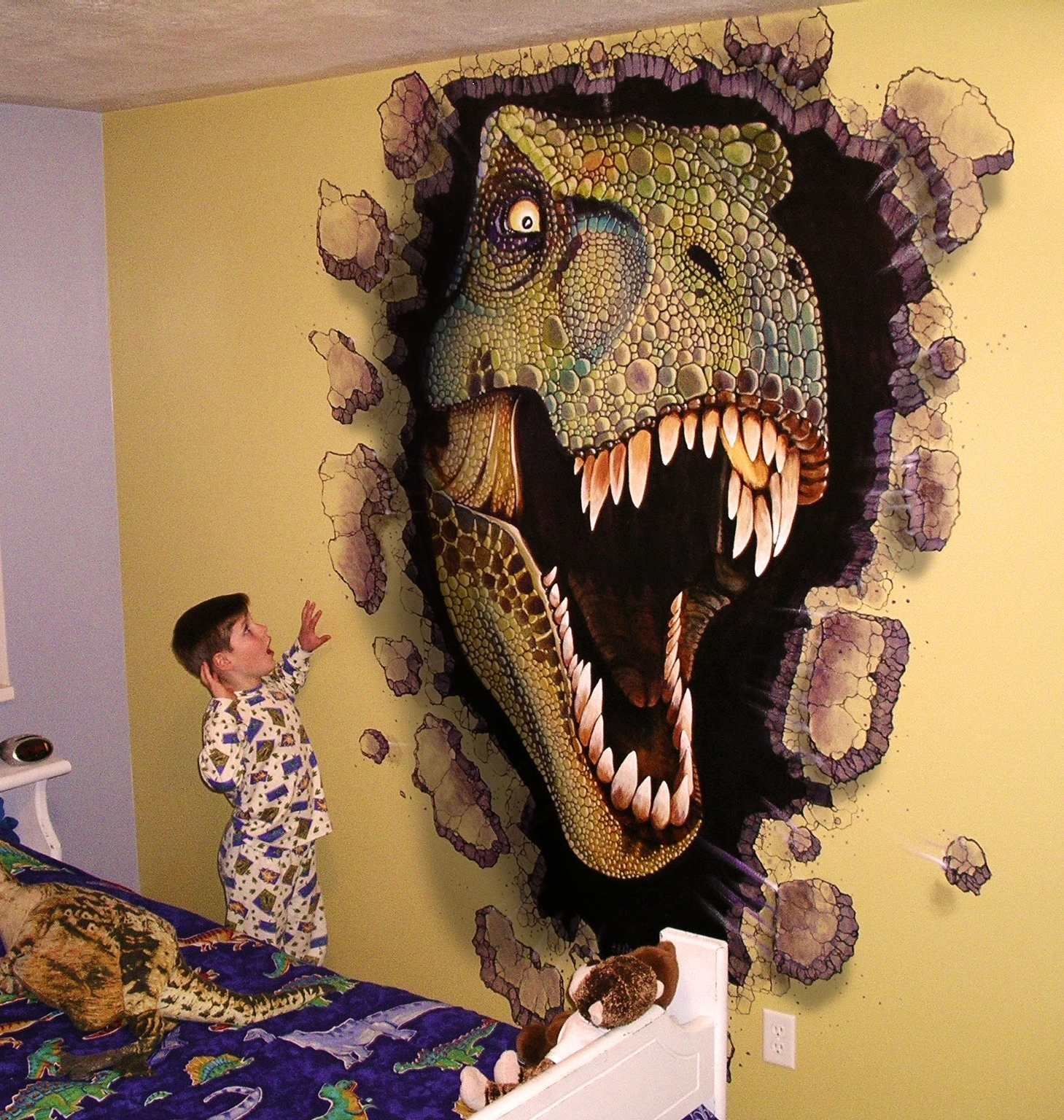 Miles Woods Art: Wall Murals (View 12 of 15)