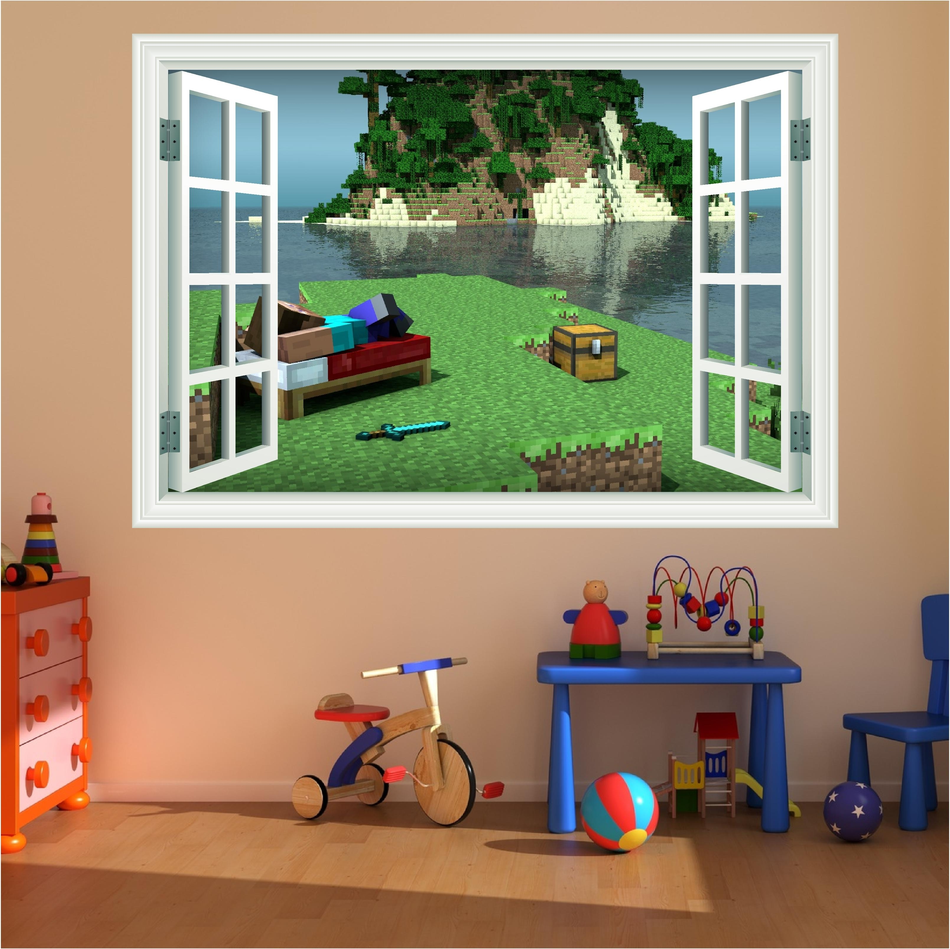 Minecraft Wall Art Uk In Well Known Minecraft Wall Decals (View 5 of 15)