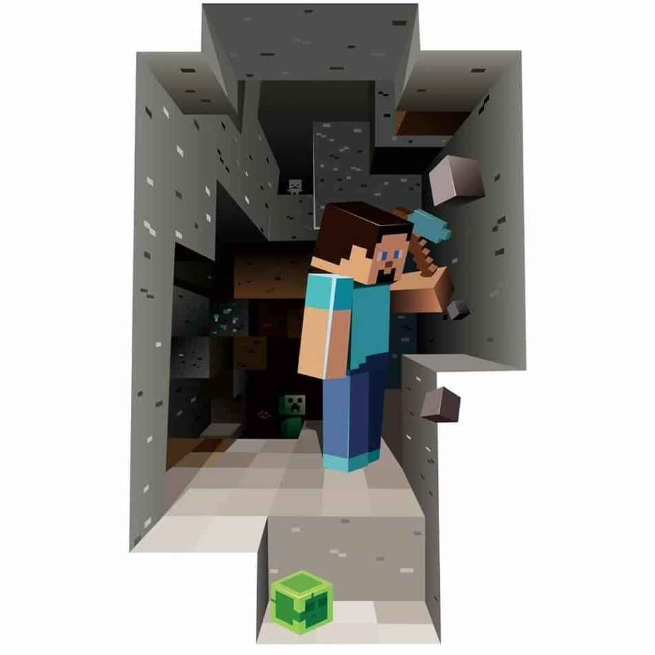 Minecraft Wall Art Uk Within Popular Minecraft 3d Wall Art Uk (View 13 of 15)