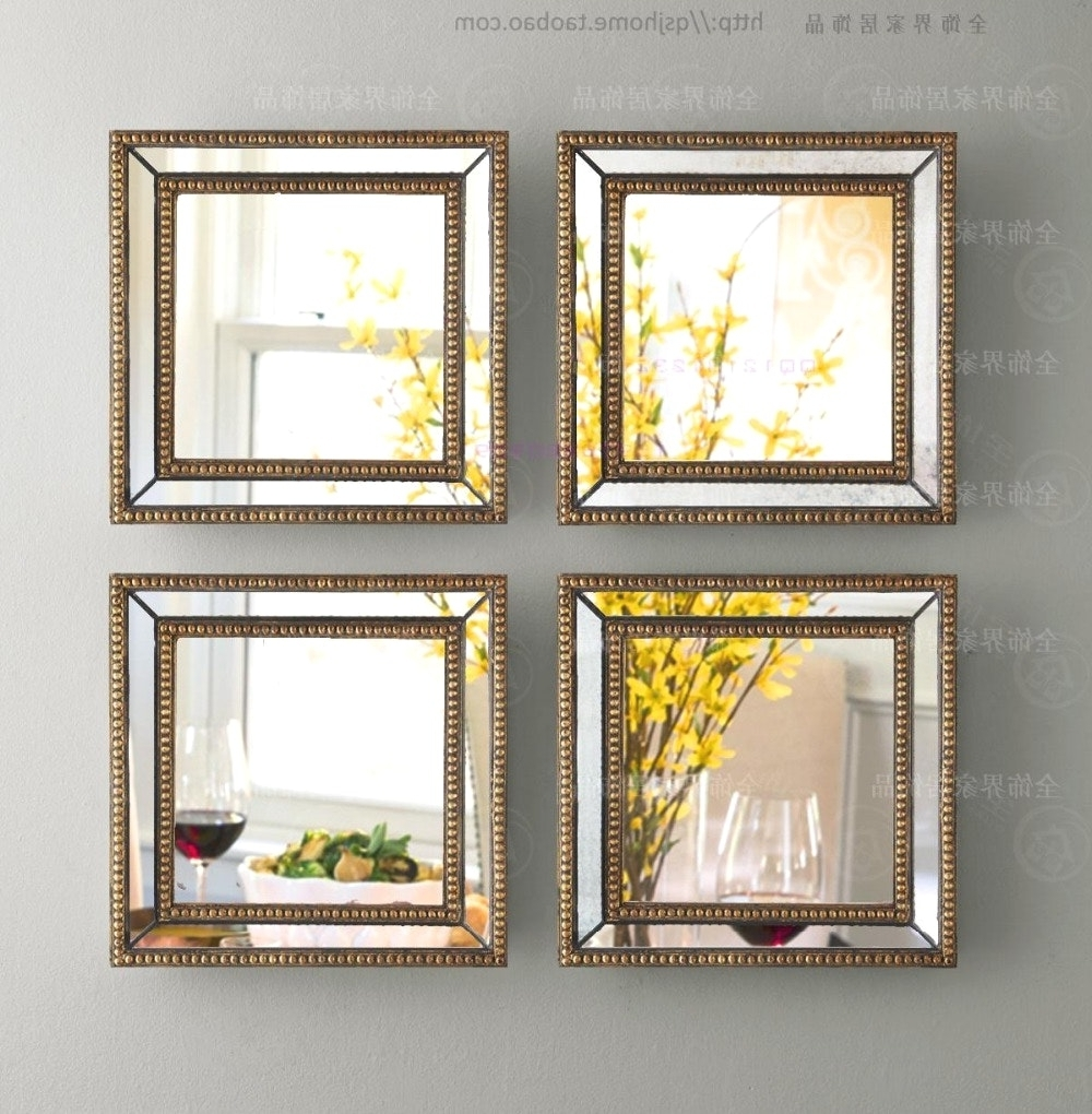 Mirror Sets Wall Decor Scenic Mirrored Fretwork Square Framed Art In Well Known Fretwork Wall Art (View 7 of 15)
