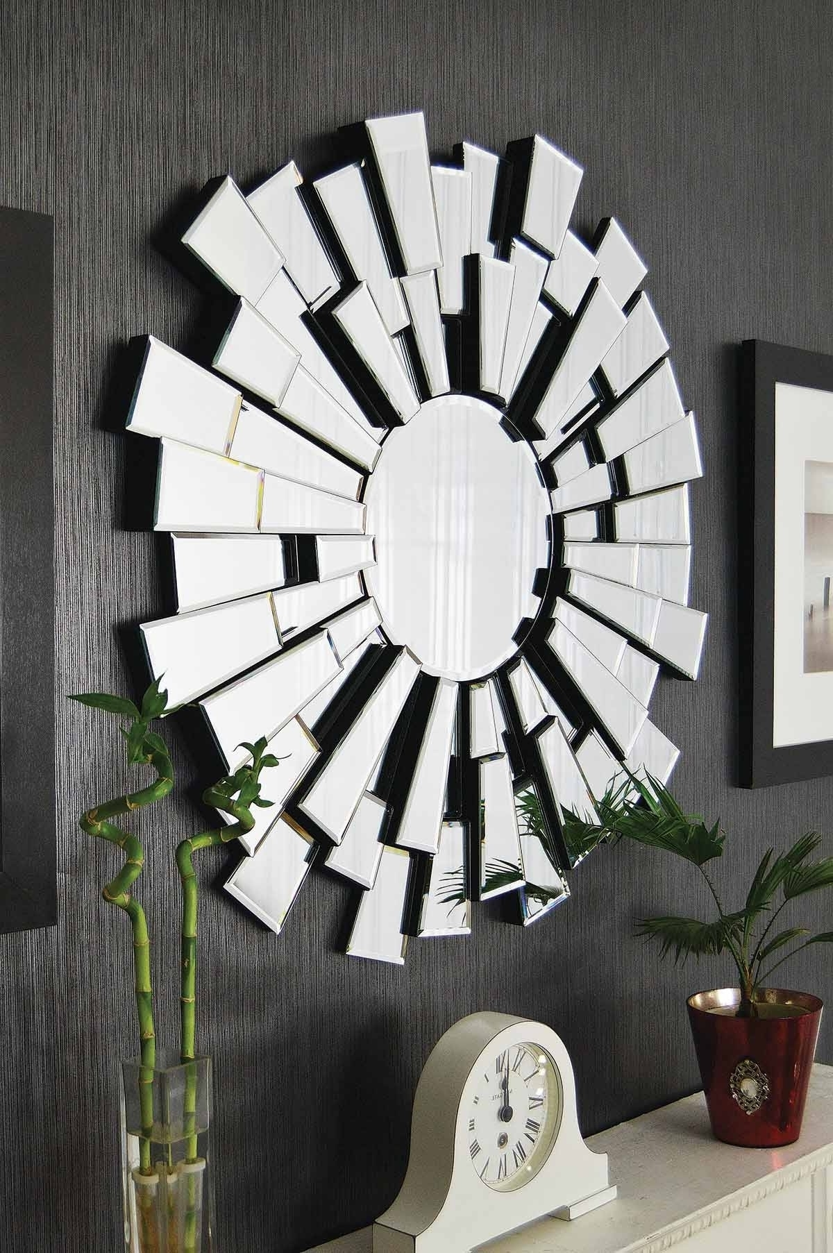 Mirrors Modern Wall Art Throughout Widely Used Popular 194 List Modern Wall Mirror (View 10 of 15)