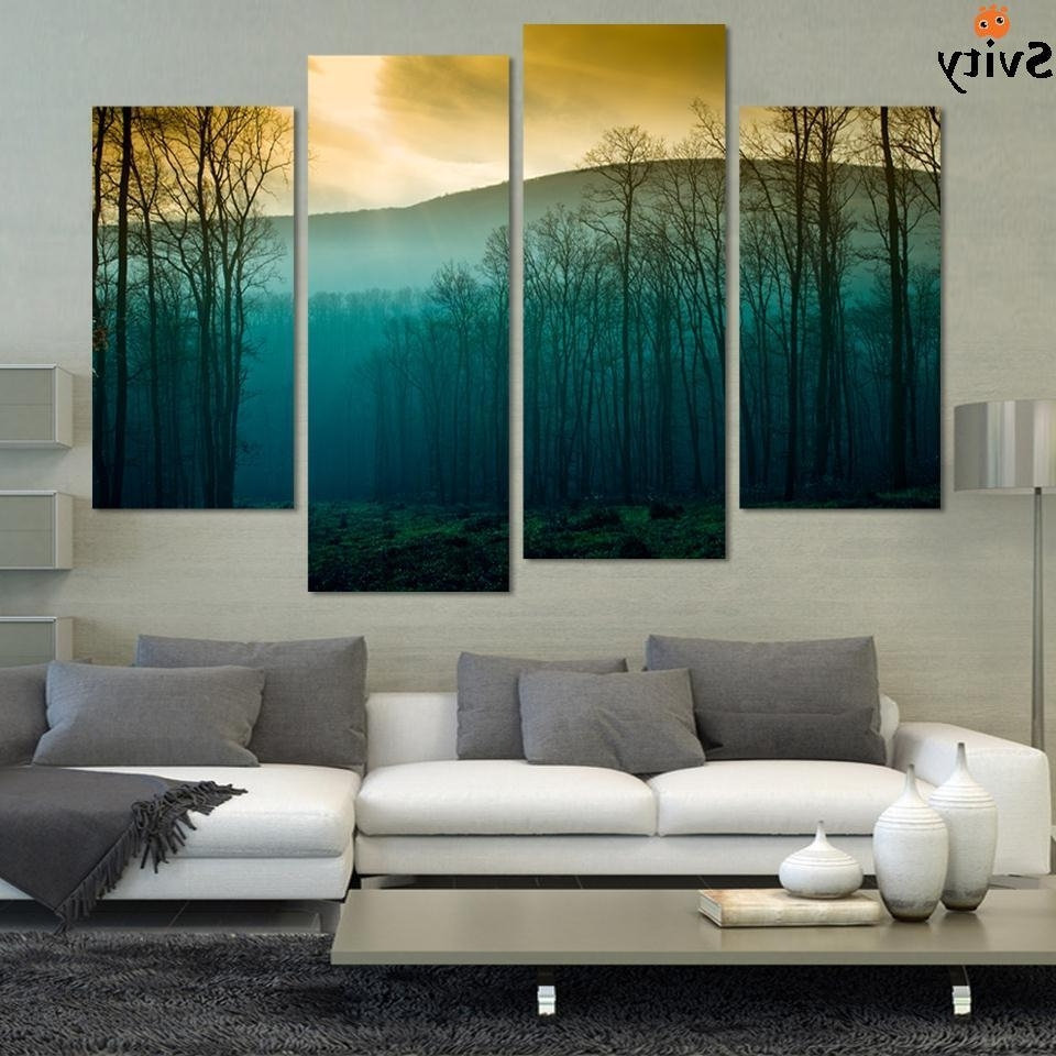 Modern Abstract Huge Wall Art Inside Most Recent Hot Sale! Modern Abstract Huge Wall Art Painting On Canvas (View 9 of 15)