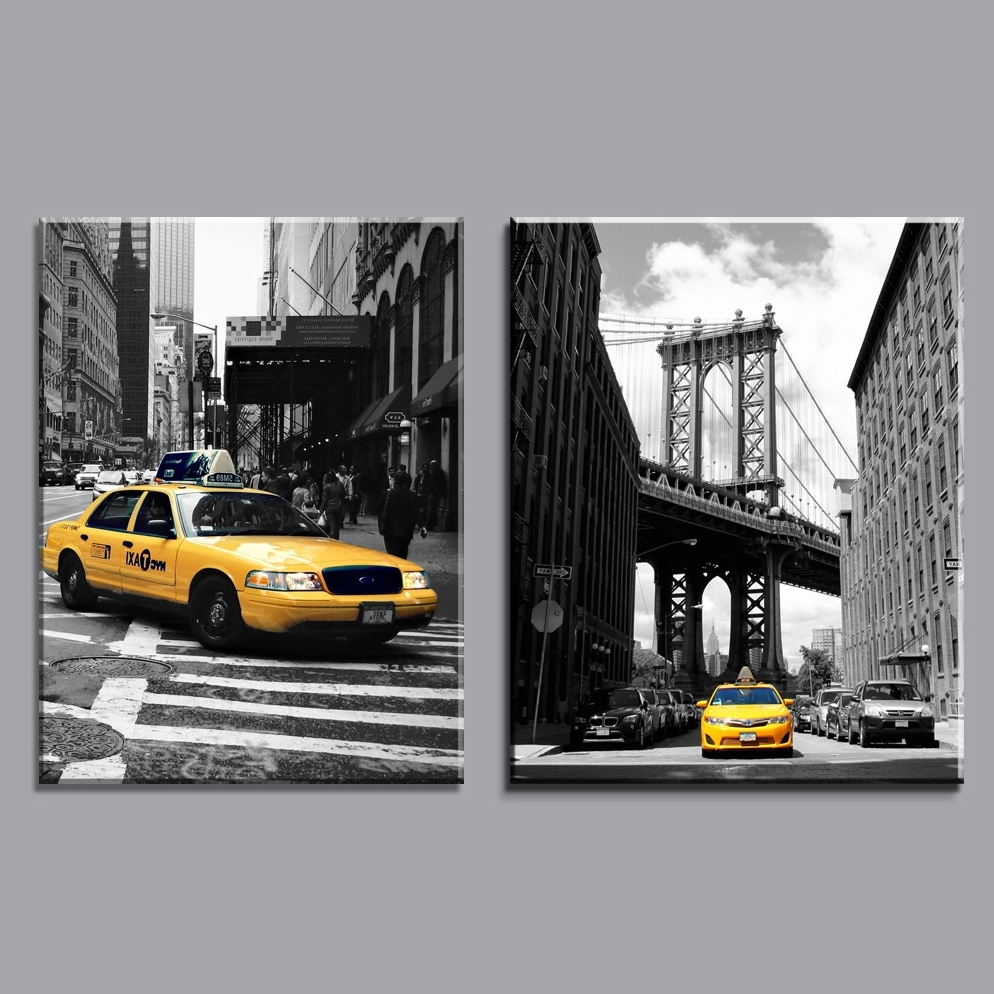 Featured Photo of Black And White New York Canvas Wall Art