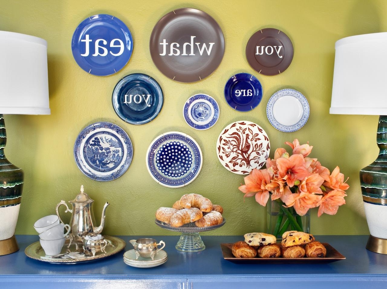 15 Photos Decorative Plates For Wall Art