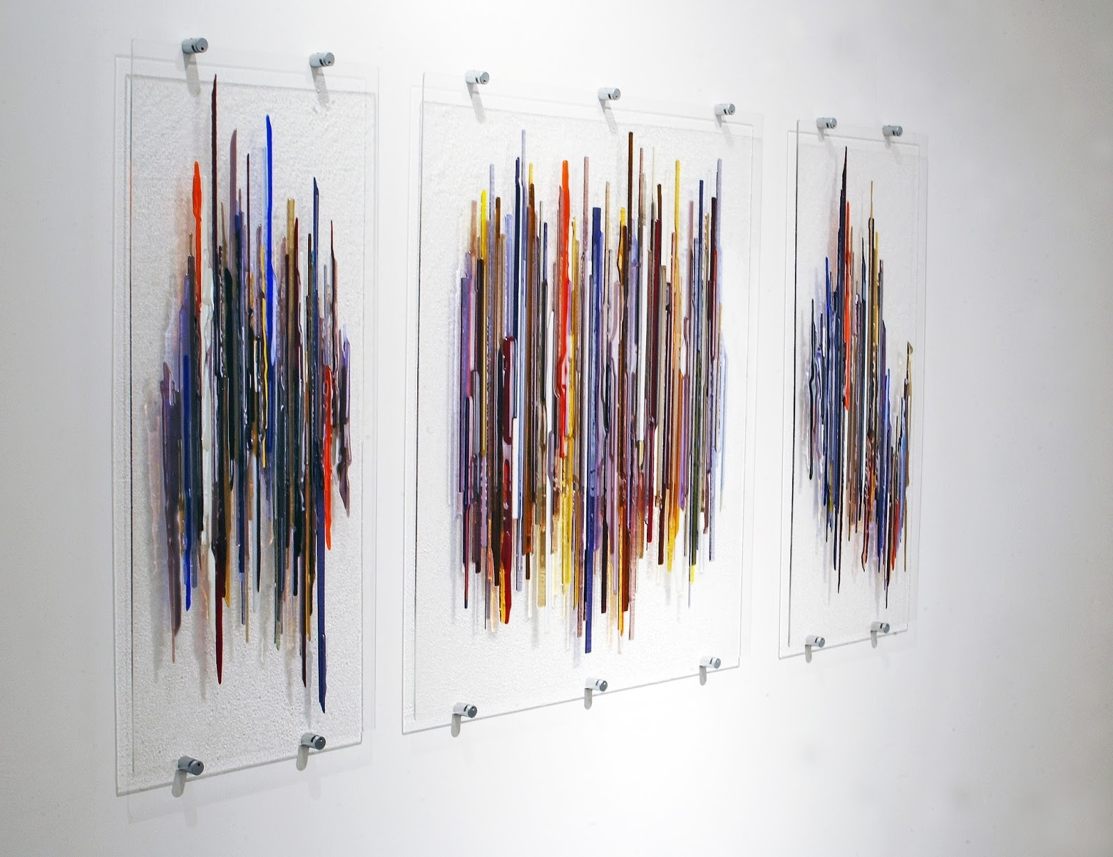 Modern Glass Wall Art Within Famous Wall Art Ideas Design : Fabrication Crafties Glass Wall Art Panels (View 8 of 15)