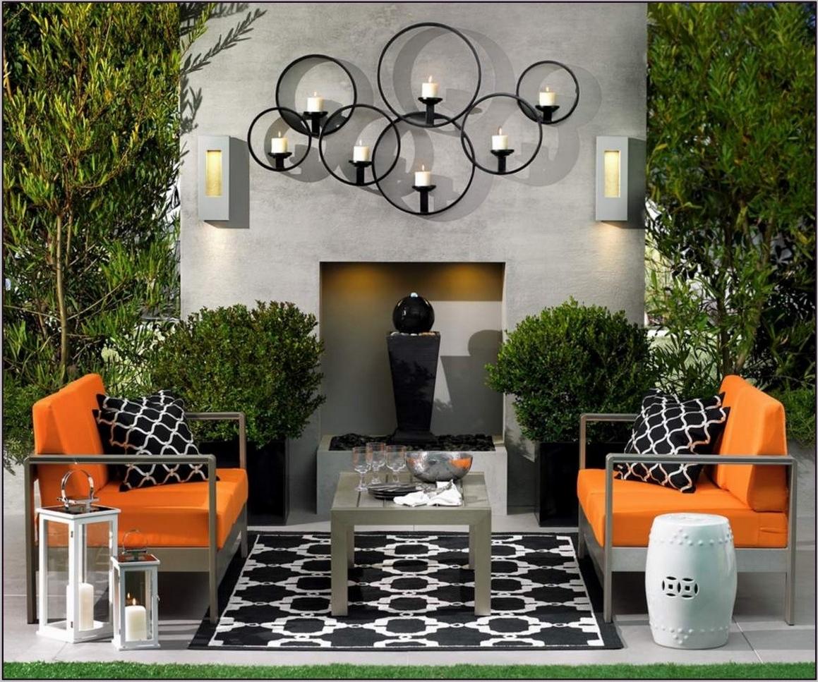 Modern Outdoor Wall Art Regarding Favorite Wall Art Design Ideas: Elegant Modern Outdoor Wall Art Ideas (View 5 of 15)