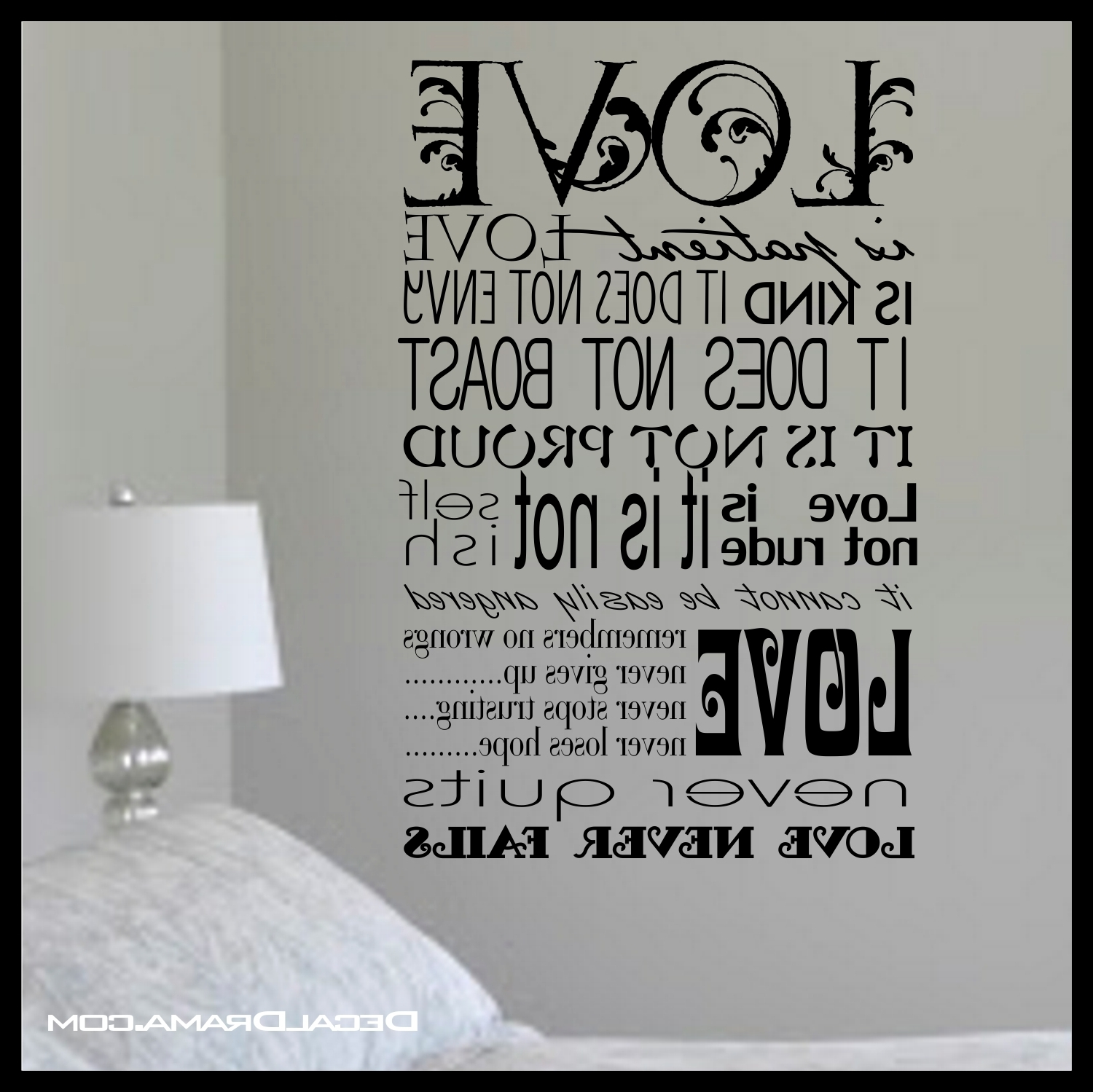 Most Current 1 Corinthians 13 Wall Art With Scripture – Love Is Patient, Love Is Kind, Inspired (View 11 of 15)