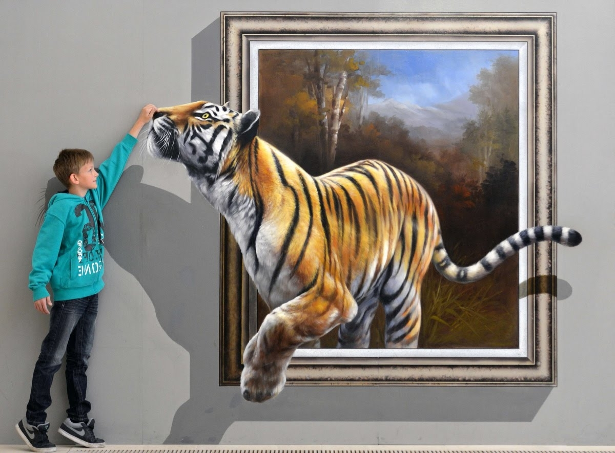 Most Current 3D Wall Art Illusions Regarding Best Of 3D Street Art Illusion (View 7 of 15)
