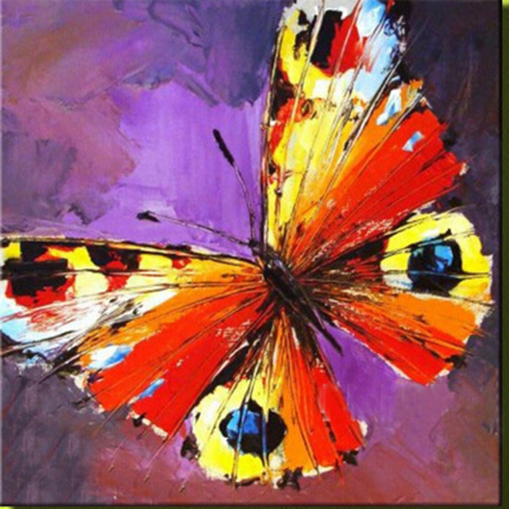 Most Current Abstract Butterfly Wall Art With Regard To Butterfly – Abstract Art – Colorful (View 4 of 15)