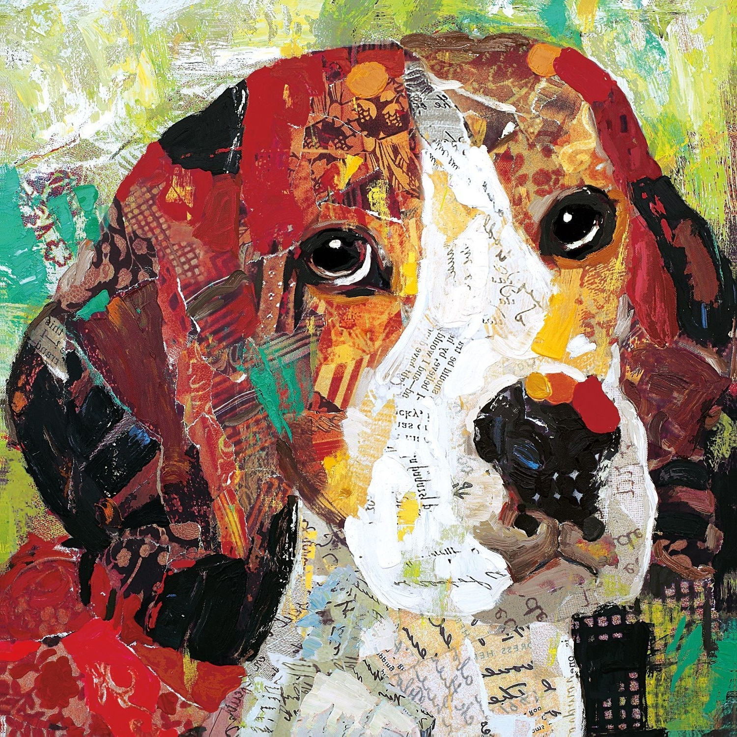 Most Current Abstract Dog Wall Art Pertaining To Put Your Love For Beagles On Display When Decorating With This (View 9 of 15)