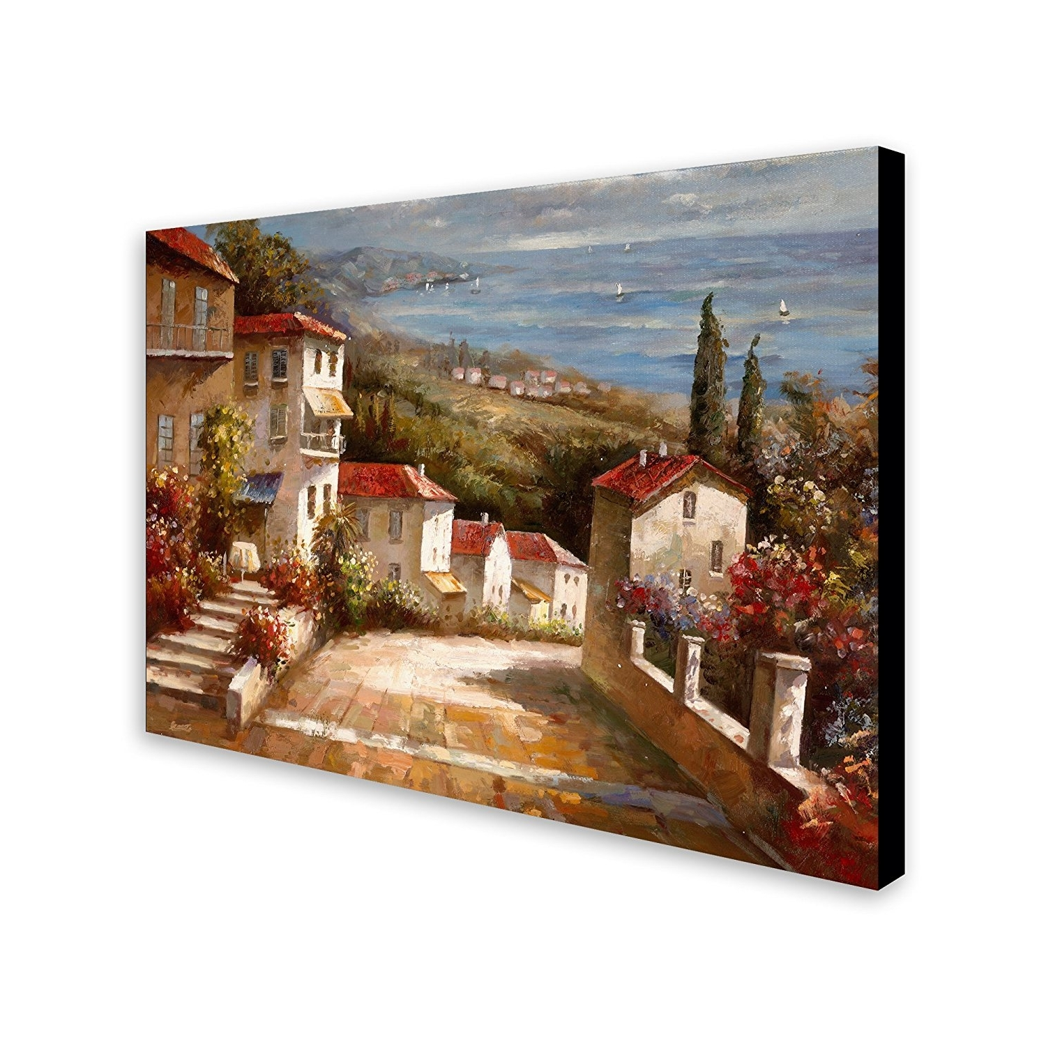 "Most Current Amazon: Trademark Art ""home In Tuscany"" Canvas Artjoval In Tuscany Wall Art (View 4 of 15)"