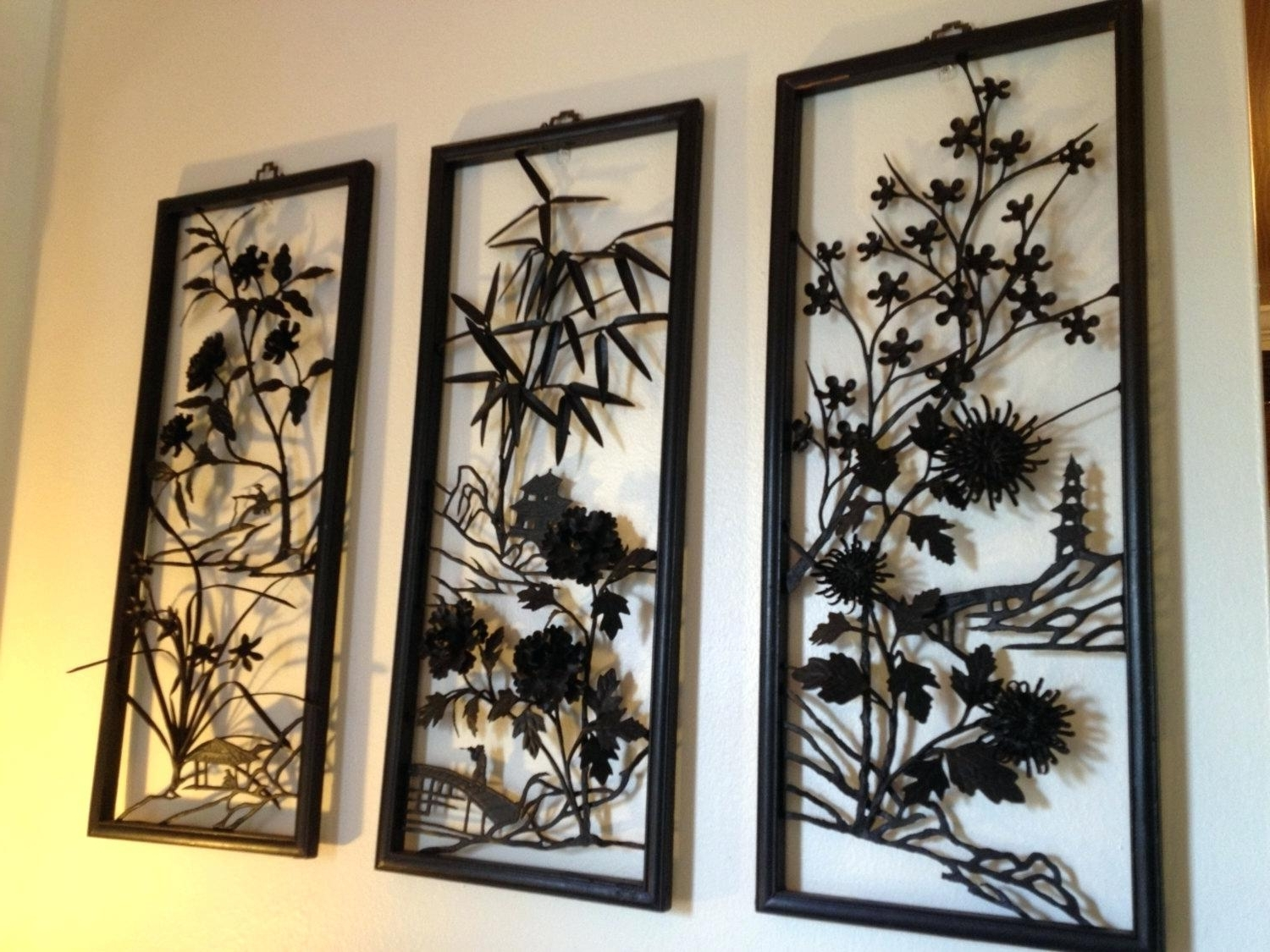 Featured Photo of Asian Metal Wall Art
