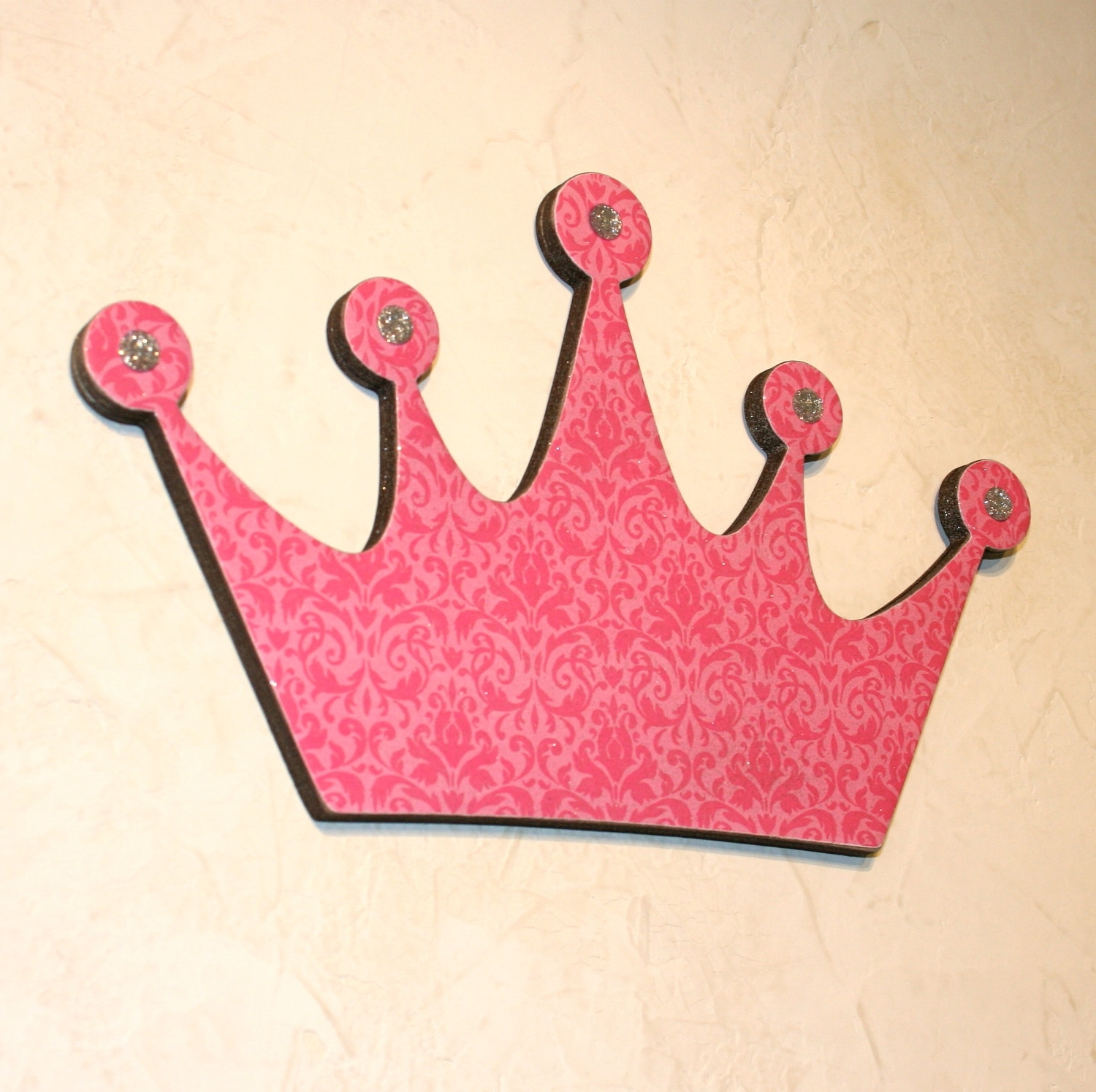 Most Current Crown Princess Wall Decor Dark : Crown Princess Wall Decor – Home Throughout 3D Princess Crown Wall Art Decor (View 11 of 15)